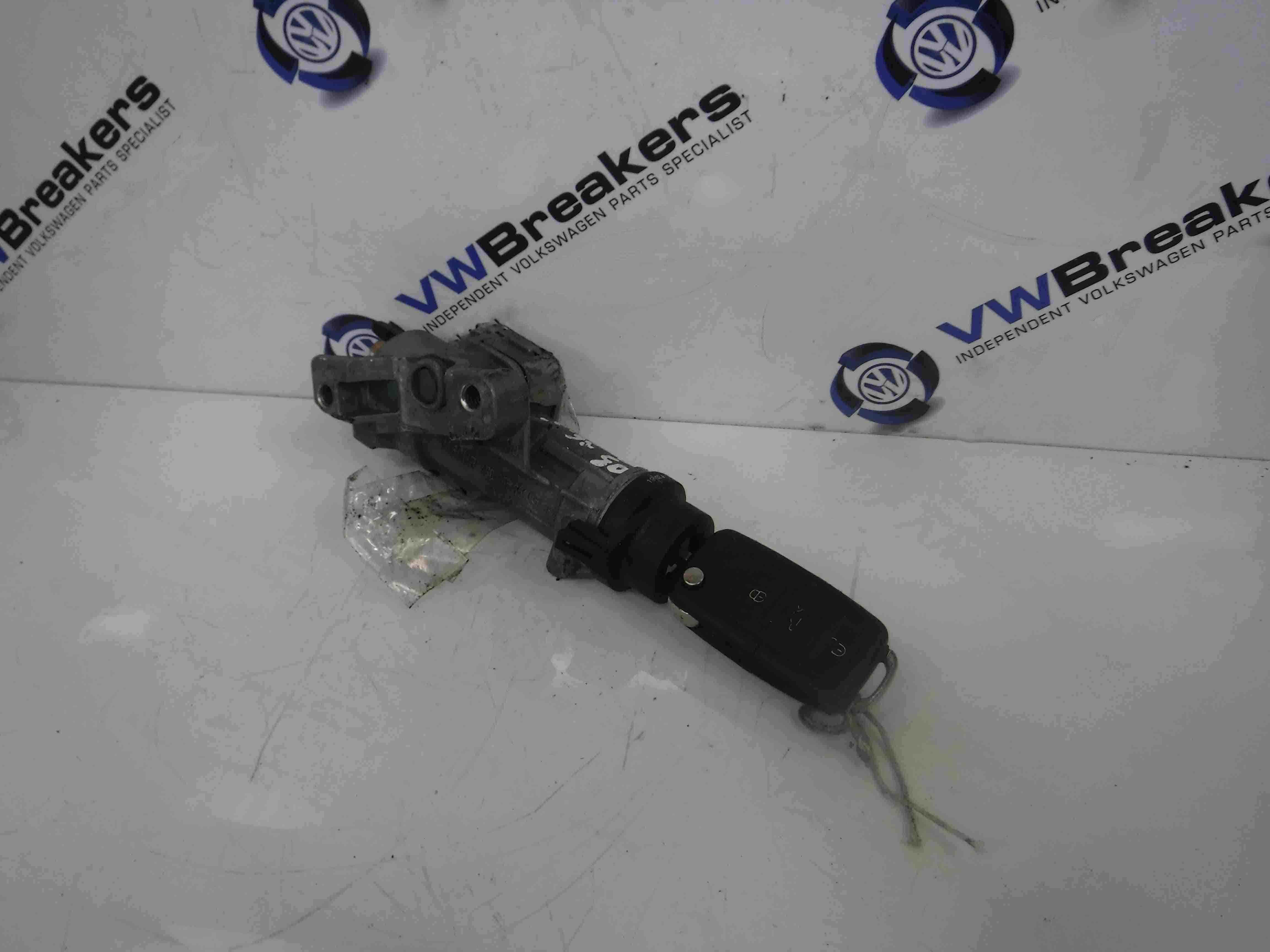 Volkswagen Beetle + Convertible 1999-2006 Ignition Barrel + Key 4B0905851G