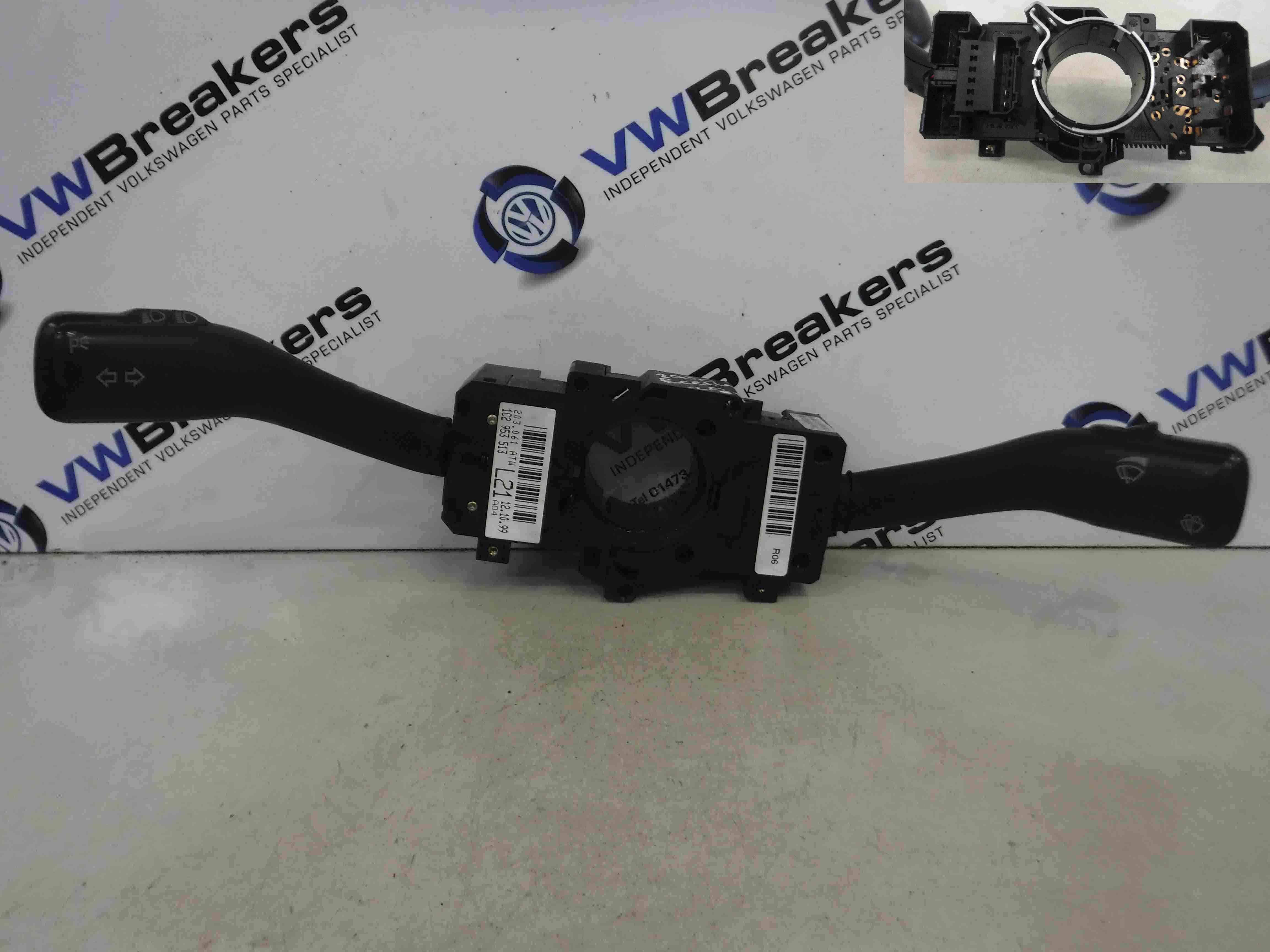 Volkswagen Beetle + Convertible 1999-2006 Steering Controls Clock Spring Stalks