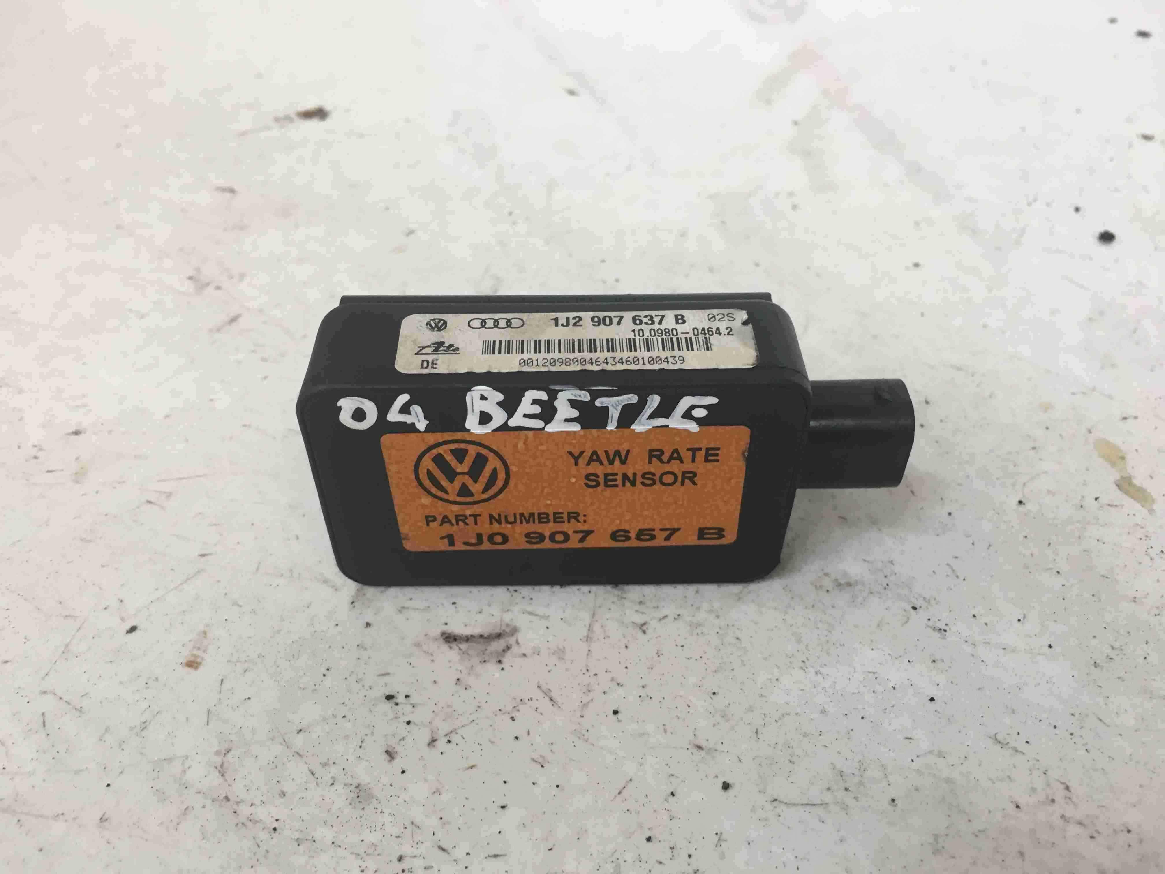 Volkswagen Beetle 1998-2006 ESP YAW Rate Sensor 1J2907637B