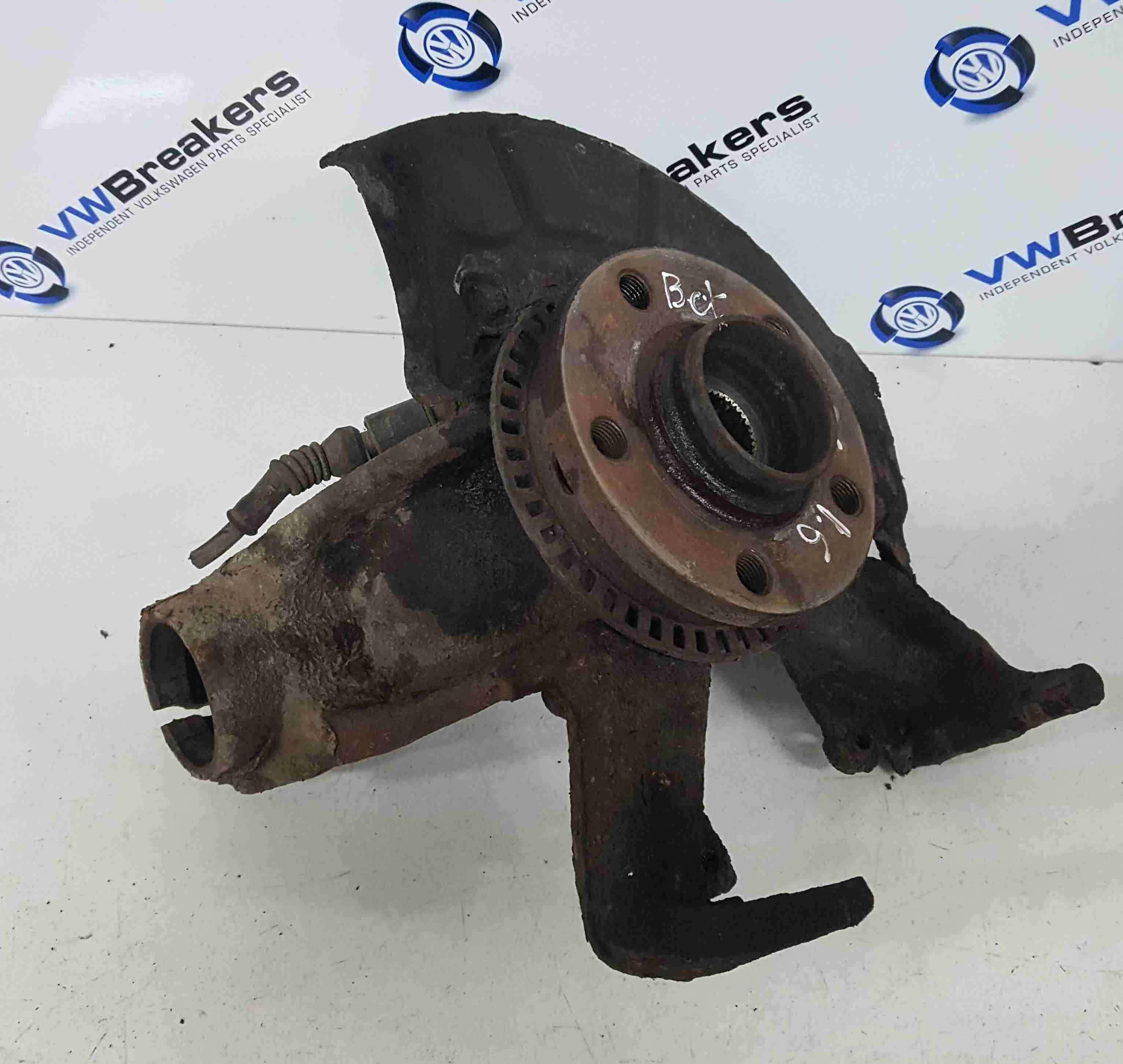 Volkswagen Beetle 1999-2006 1.6 8v Passenger NSF Front Wheel Hub + Bearing