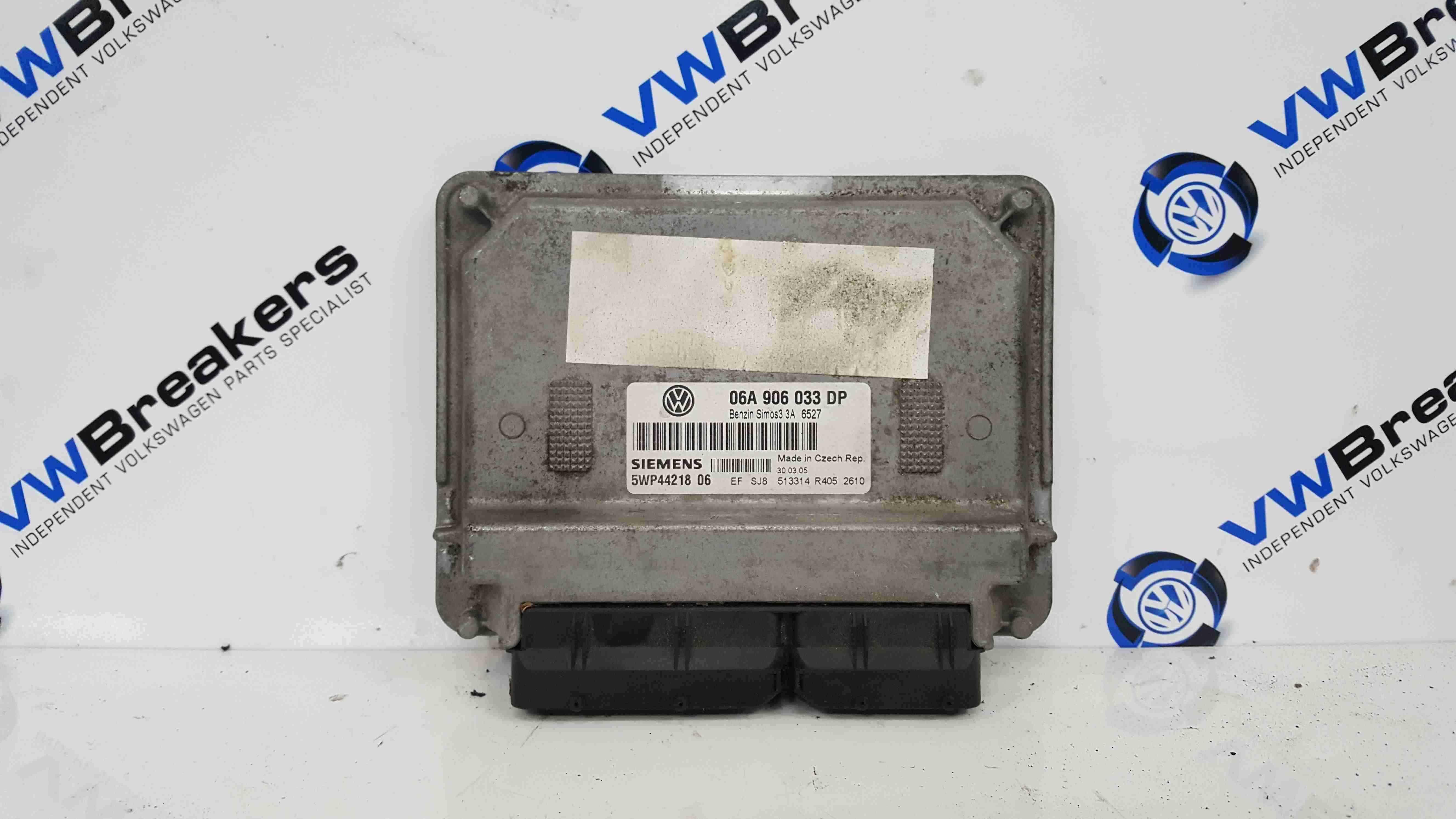 Volkswagen Beetle 1999-2006 1.6 Engine Control Unit ECU Module 06A906033DP
