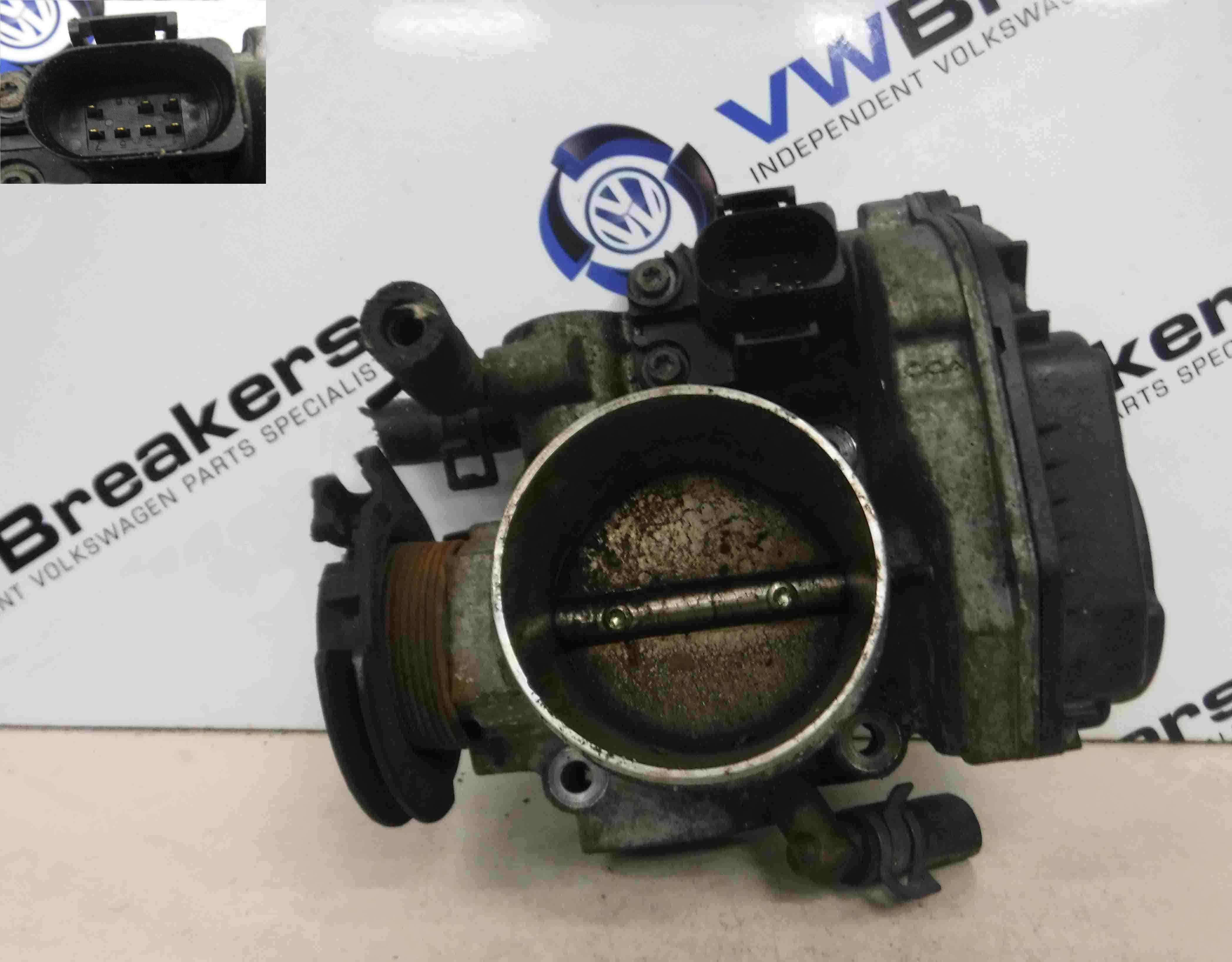 Volkswagen Beetle 1999-2006 2.0 8v Throttle Body AQY 06A133064H