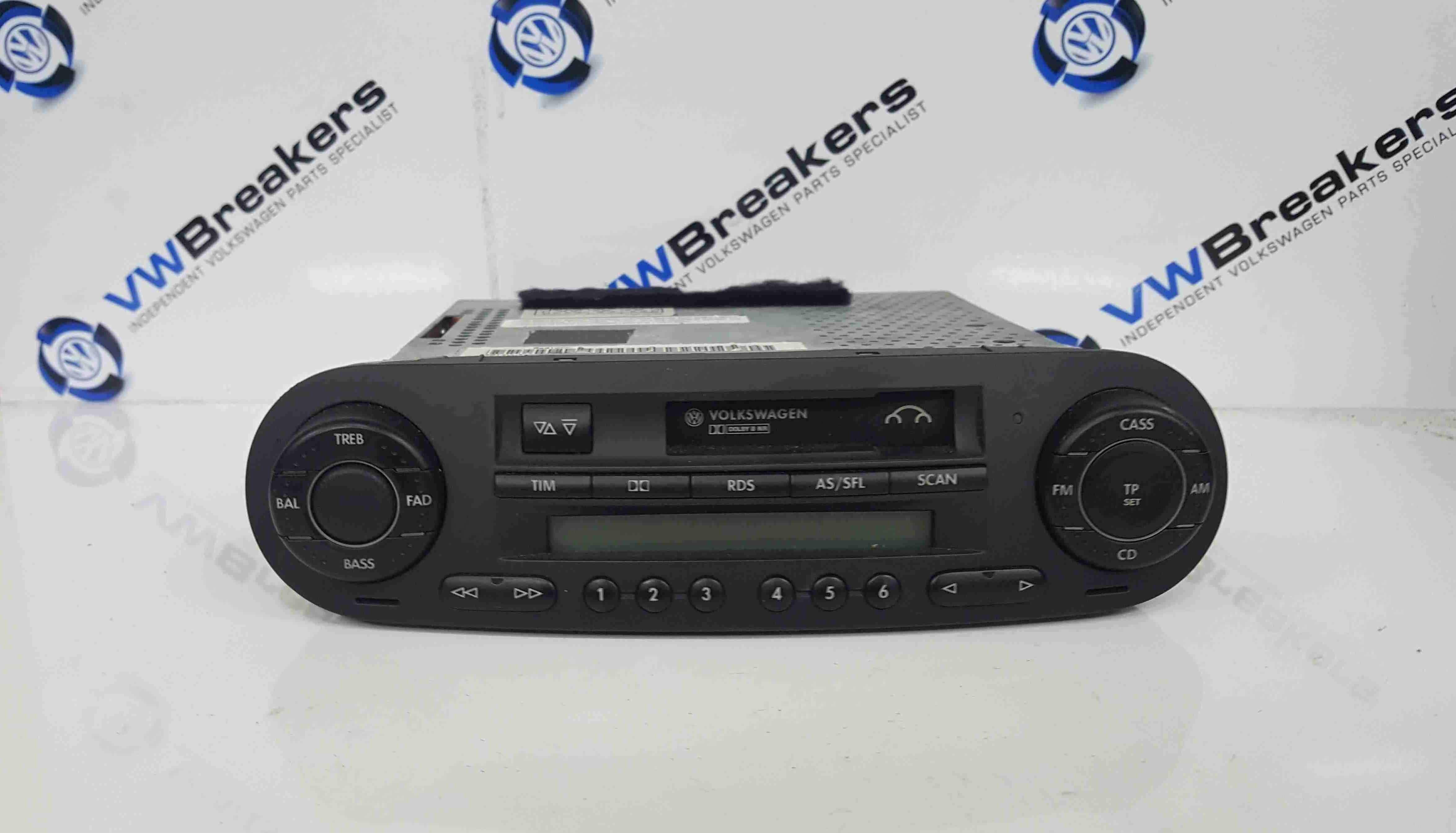 Volkswagen Beetle 1999-2006 Casette Radio Player 1C0035186