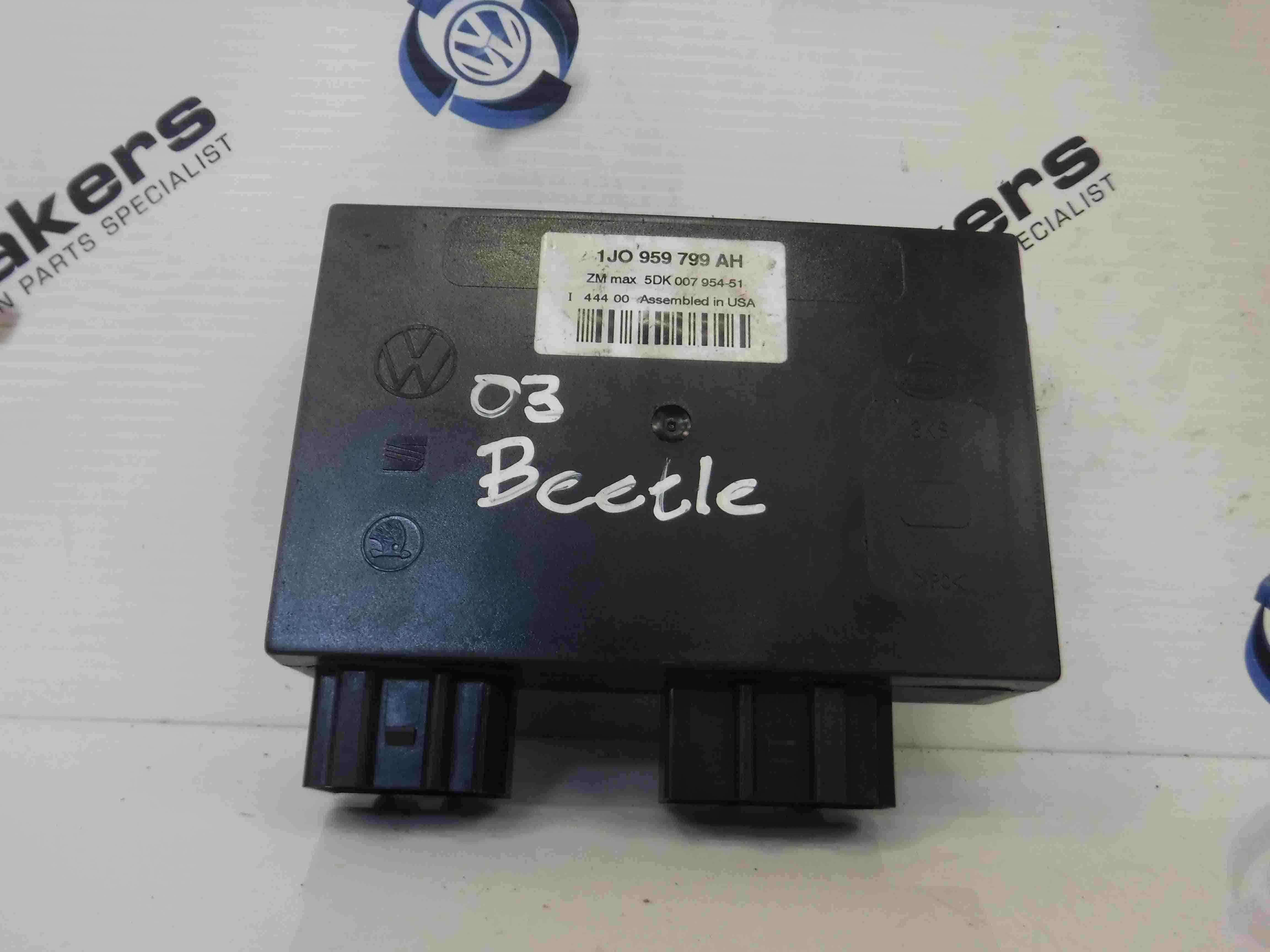 Volkswagen Beetle 1999-2006 Comfort Control Module 1J0959799AH