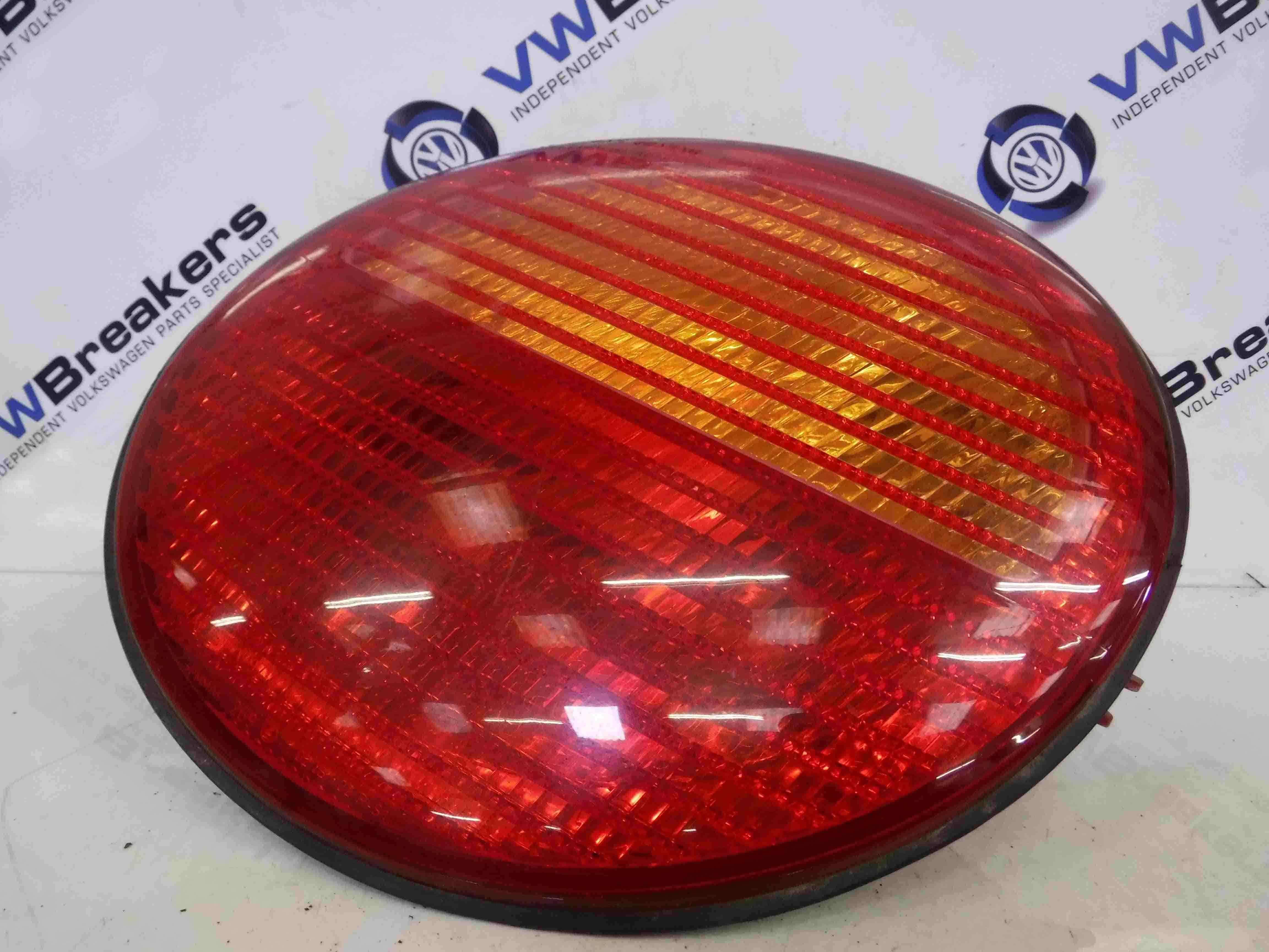 Volkswagen Beetle 1999-2006 Drivers OSR Rear Light Lens 1C0945096F 1C0945096D