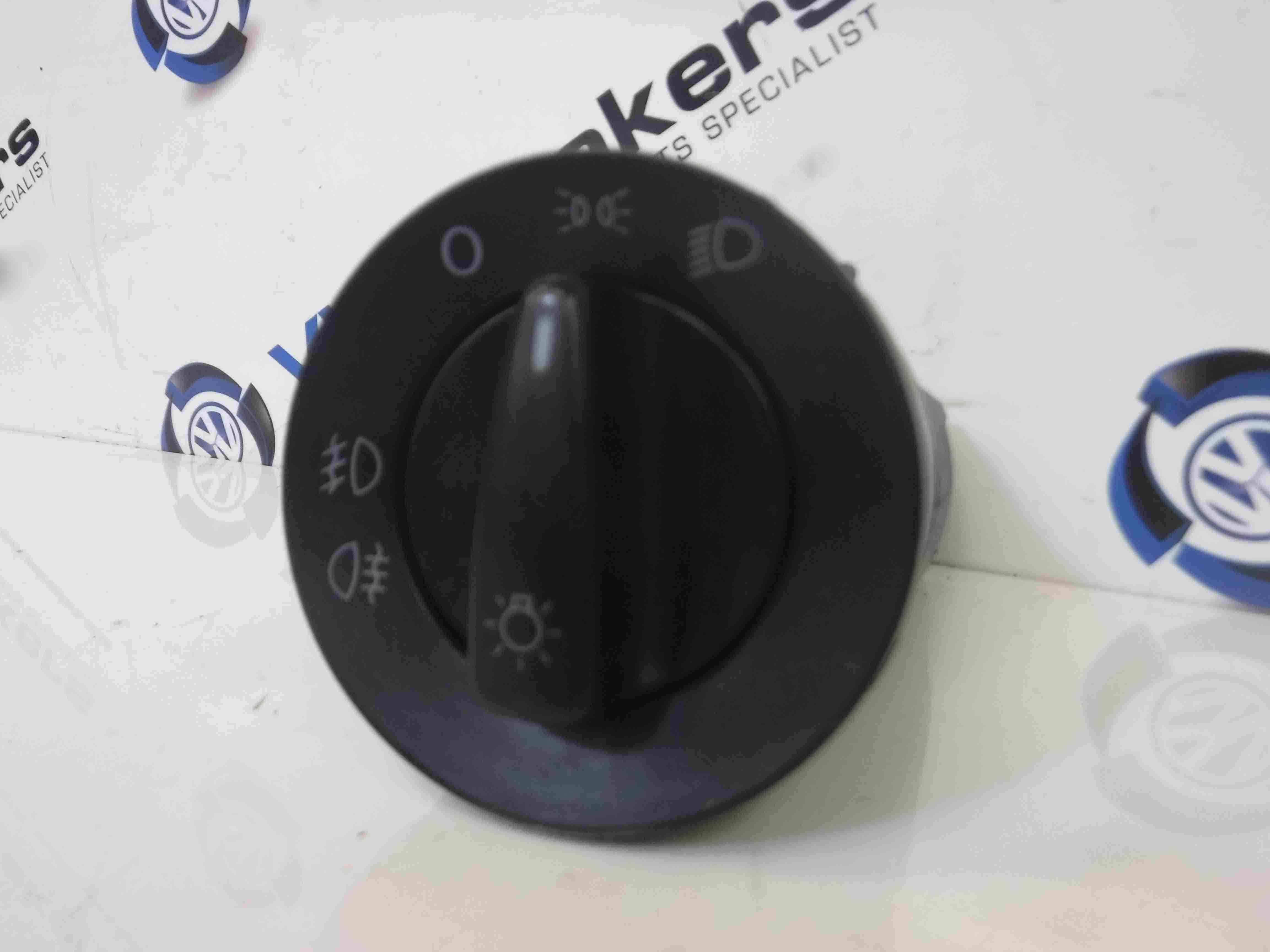 Volkswagen Beetle 1999-2006 Headlight Adjustment Panel Switch Front Fogs
