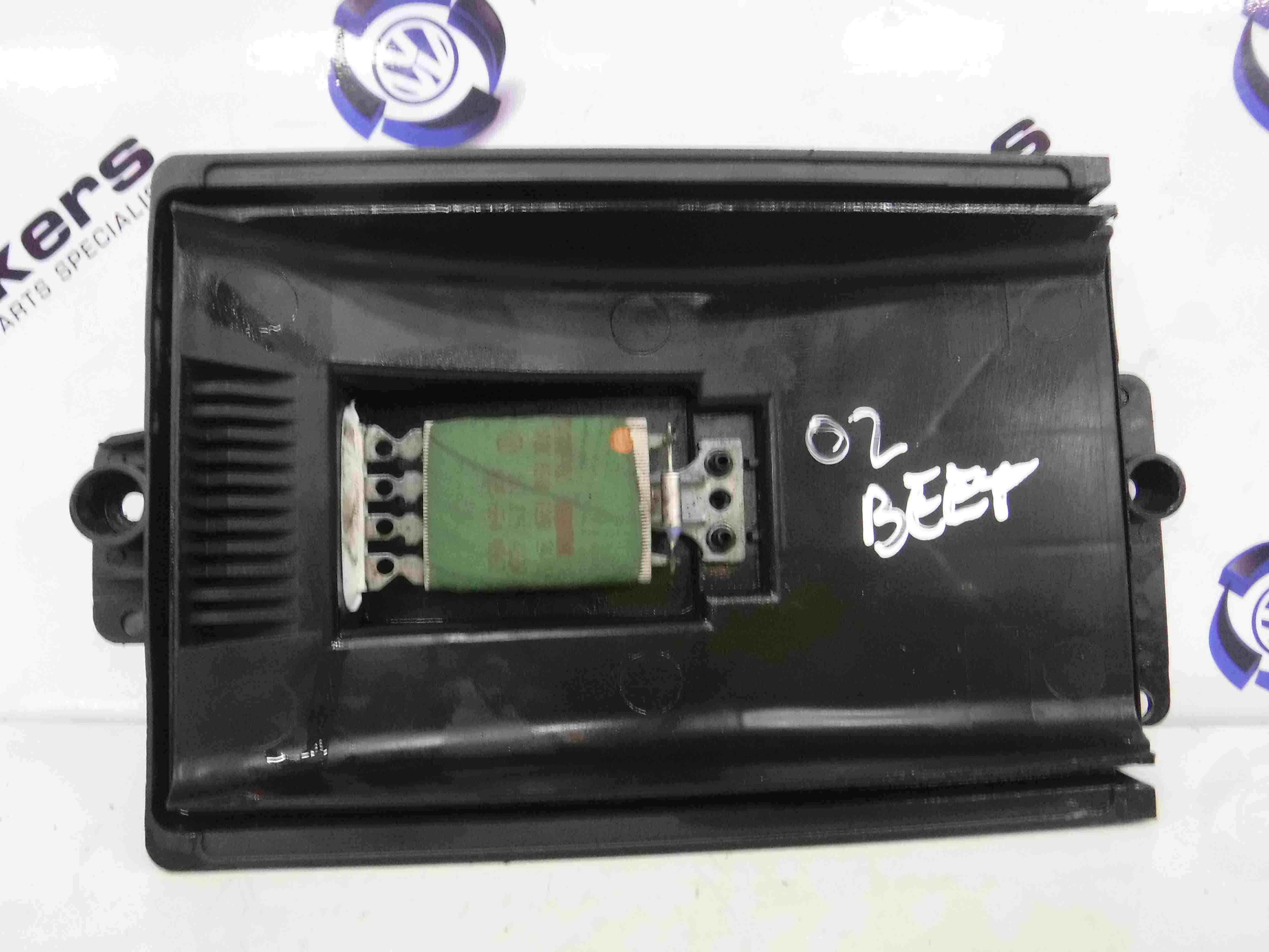 Volkswagen Beetle 1999-2006 Heater Motor Resistor 1j0 819 022