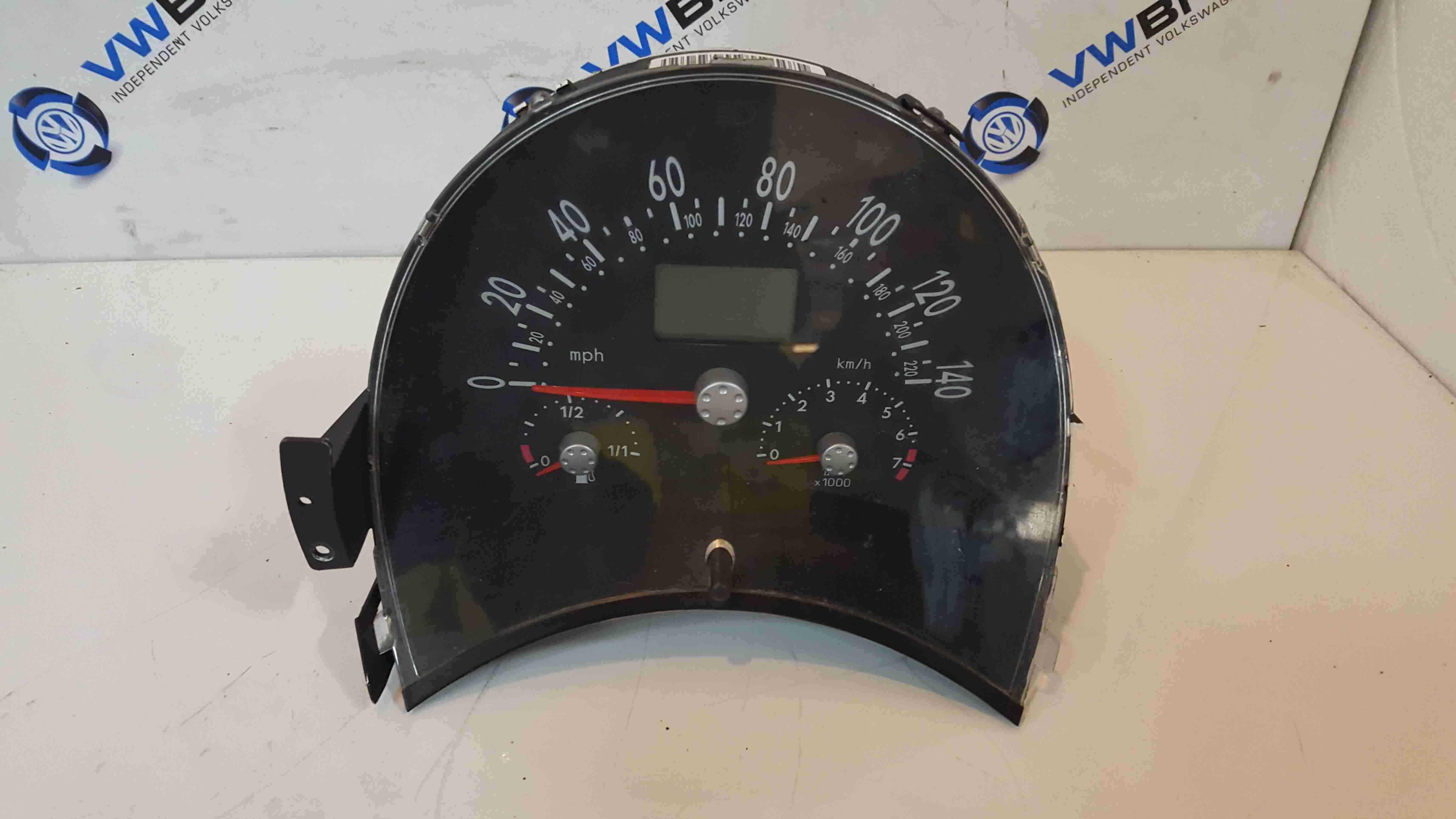 Volkswagen Beetle 1999-2006 Instrument Panel Dials Clocks APX 200K 1C0920940H