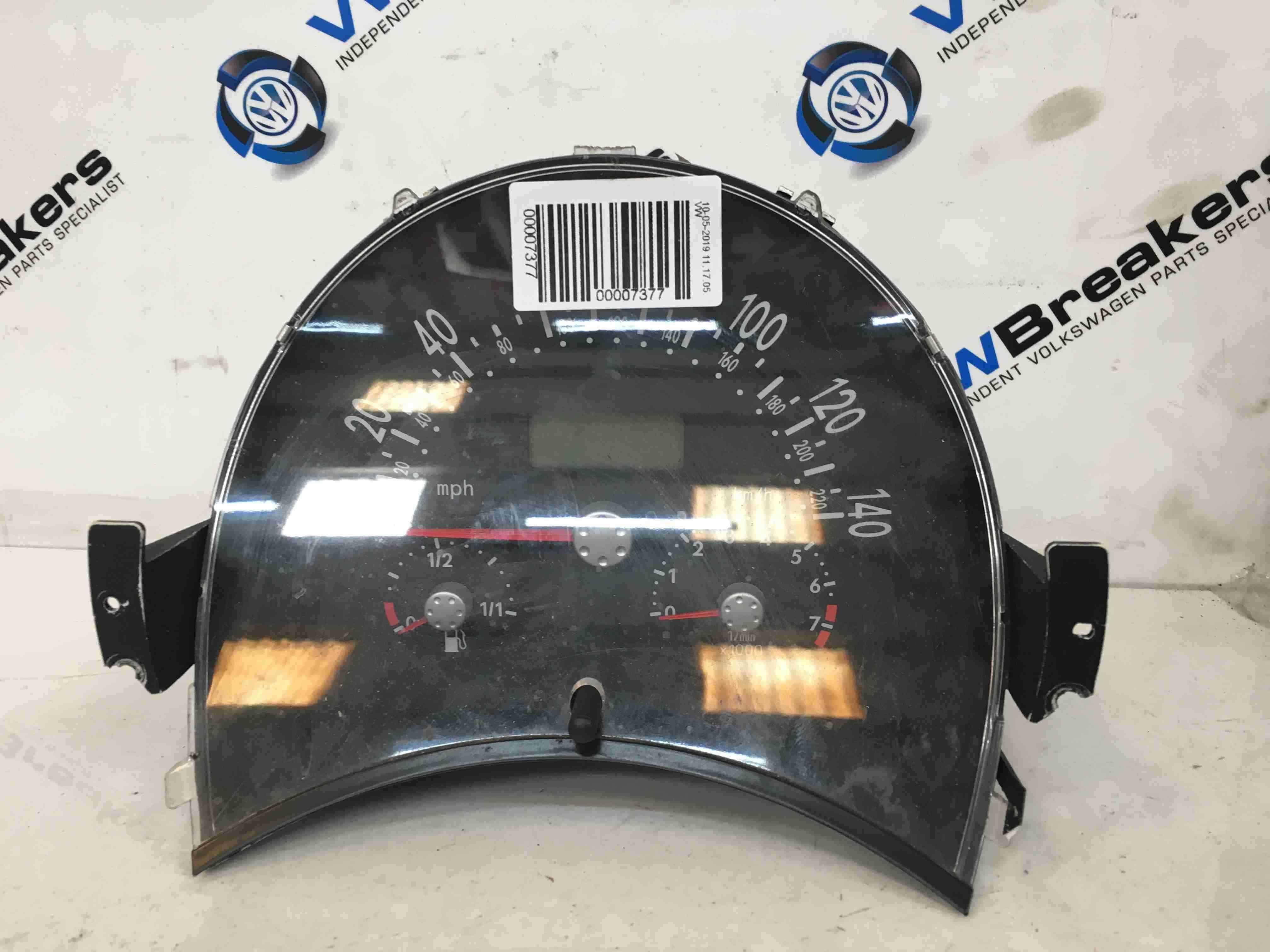 Volkswagen Beetle 1999-2006 Instrument Panel Dials Gauges Clocks 151k 1C0920900C