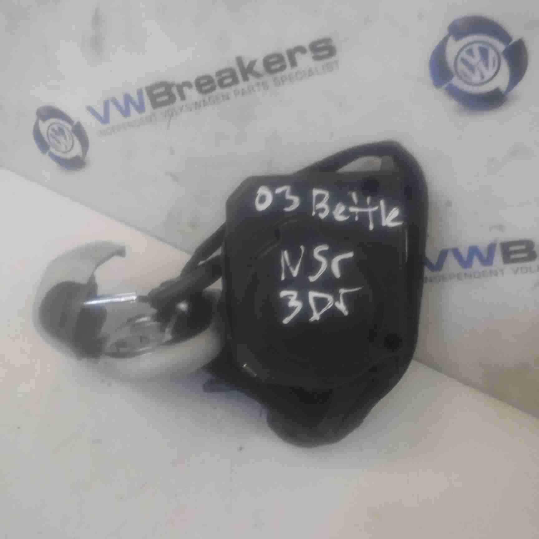 Volkswagen Beetle 1999-2006 Passenger NSR Rear Seat Belt 3dr