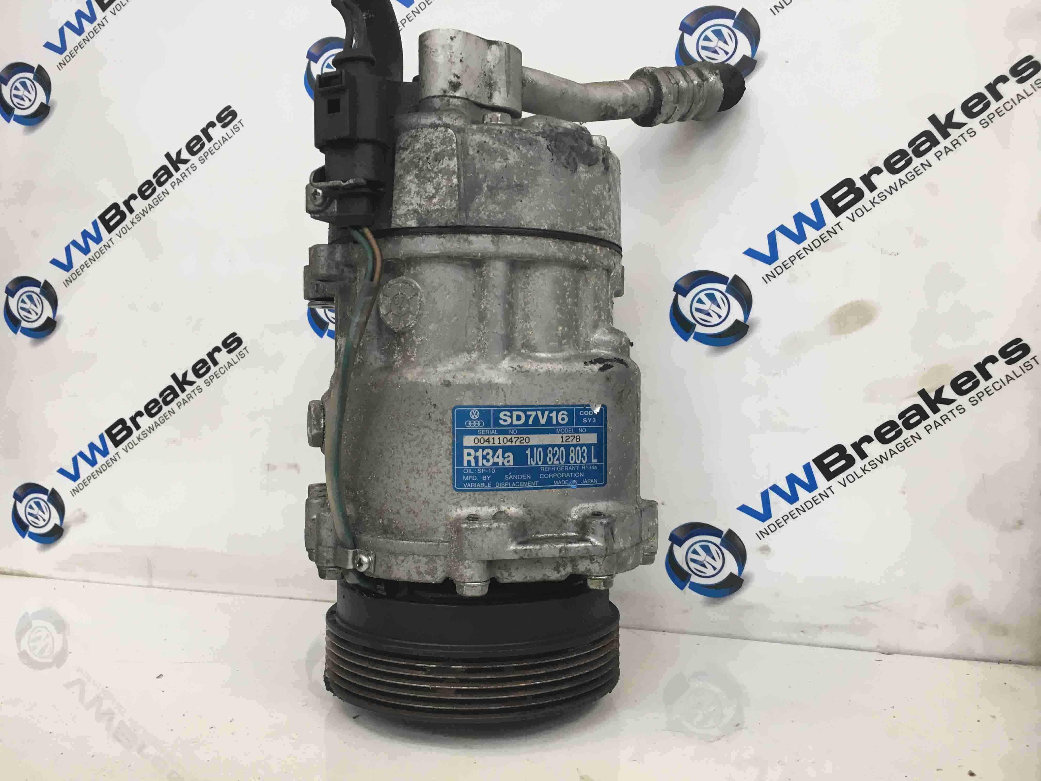 Volkswagen Beetle 2006-2011 Aircon Pump Compressor Unit 1J0820803L