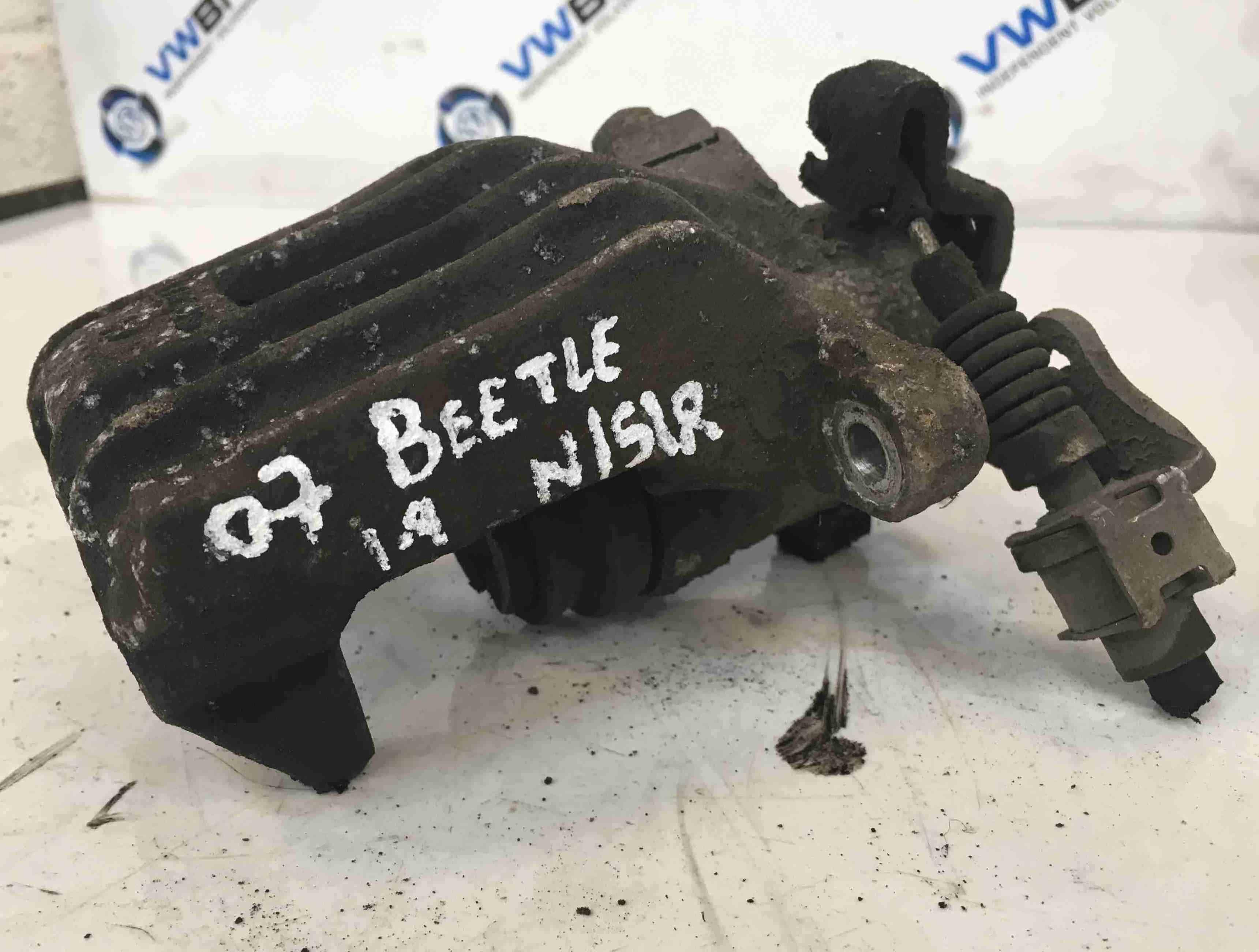 Volkswagen Beetle 2006-2011 Passenger NSR Rear Brake Caliper