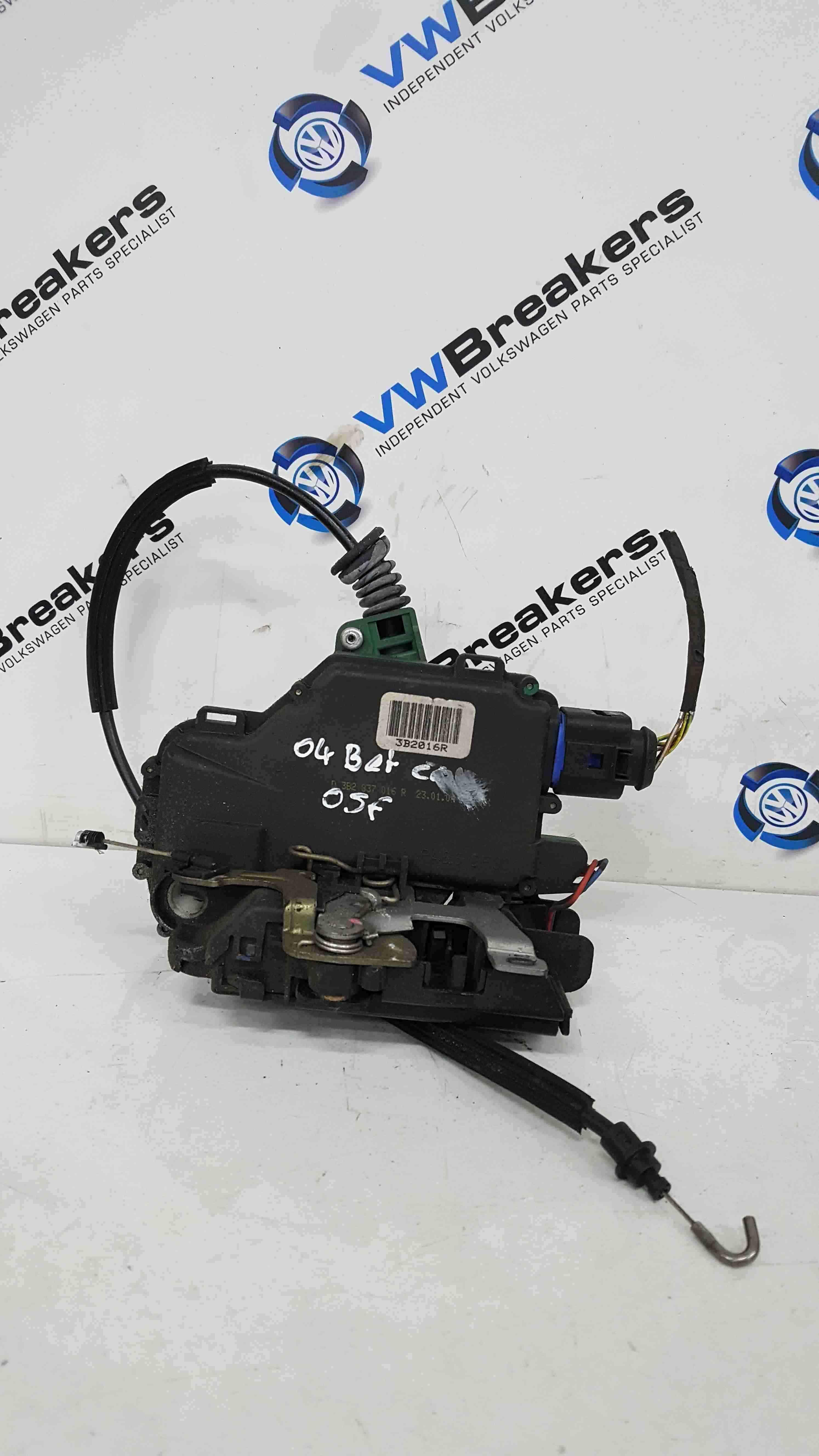 Volkswagen Beetle Convertible 1999-2006 Drivers OSF Front Door Lock Mechanism