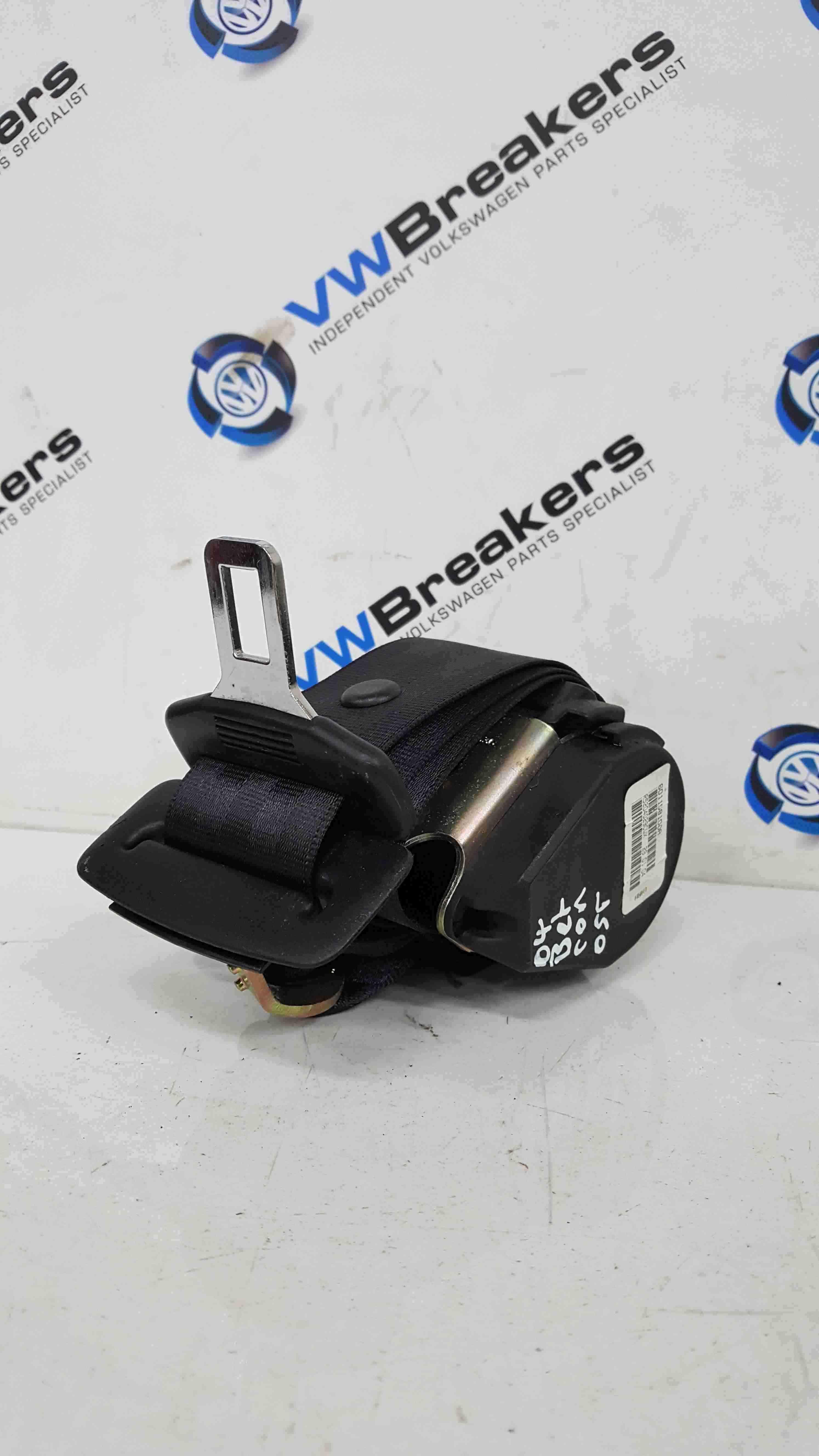 Volkswagen Beetle Convertible 2002-2006 Drivers OSR Rear Seat Belt 601158100A