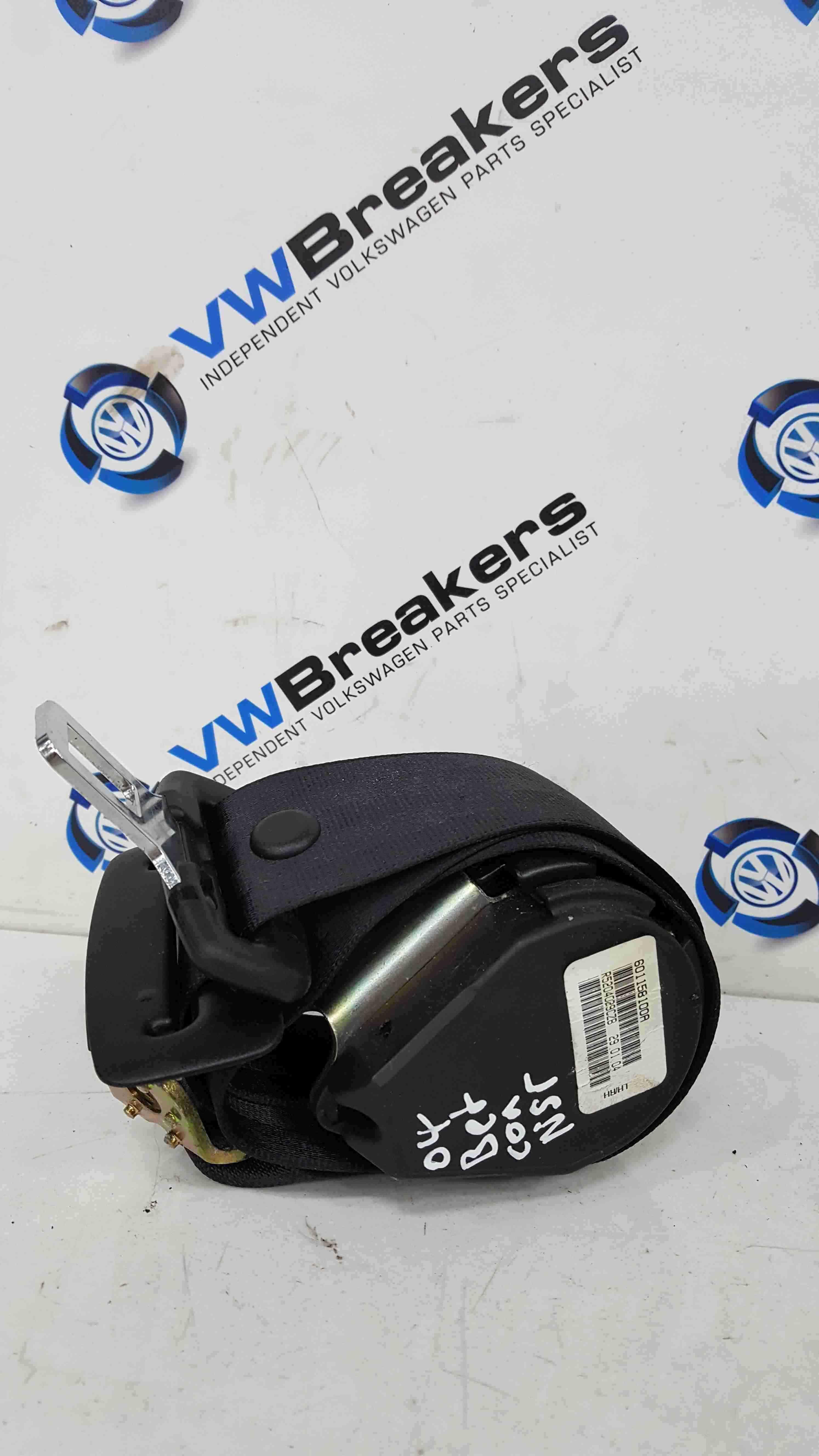 Volkswagen Beetle Convertible 2002-2011 Passenger NSR Rear Seat Belt 601158100A