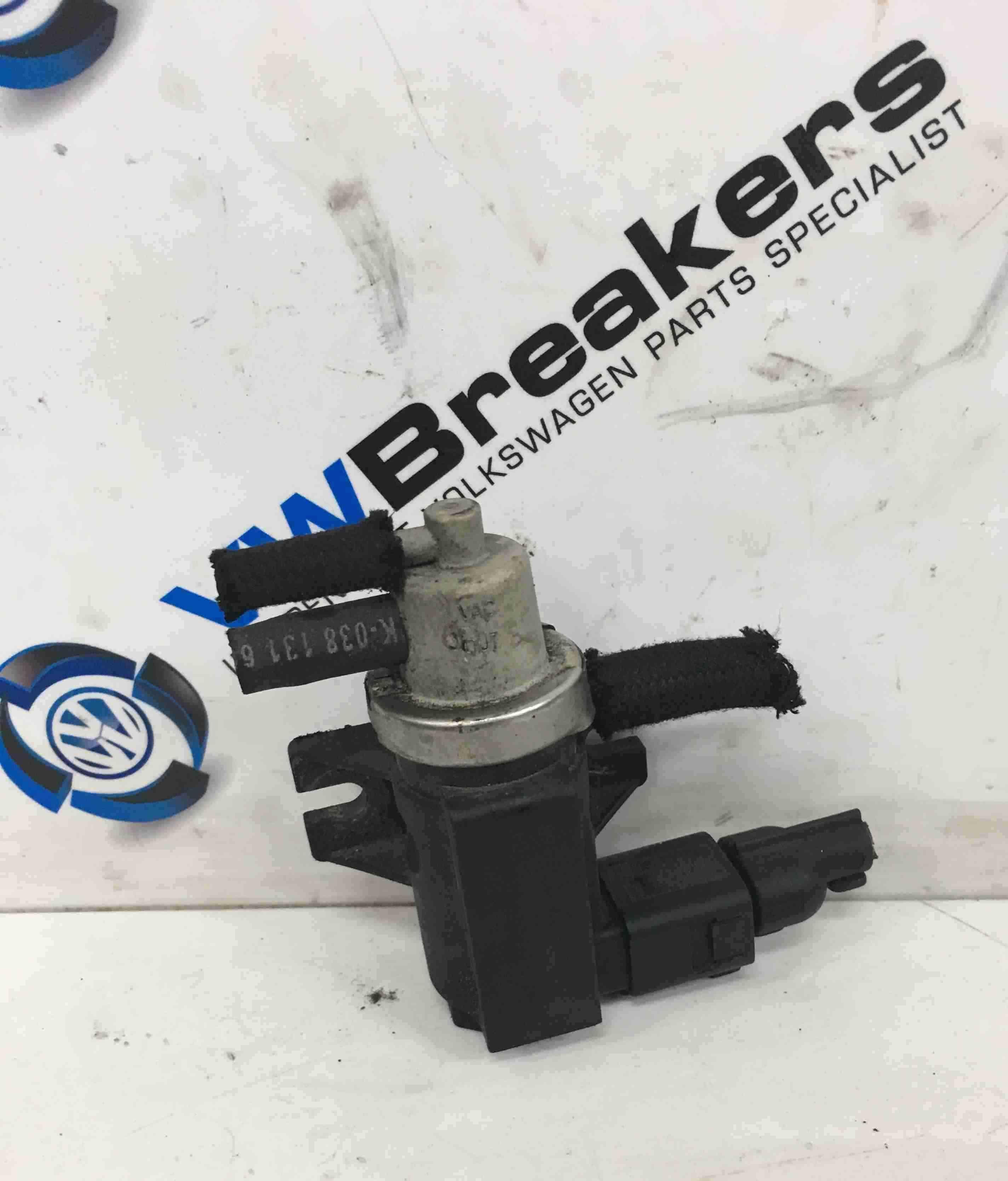 Volkswagen Bora 1998-2005 1.9 TDi Turbo Boost Pressue Solenoid 1J0906627A