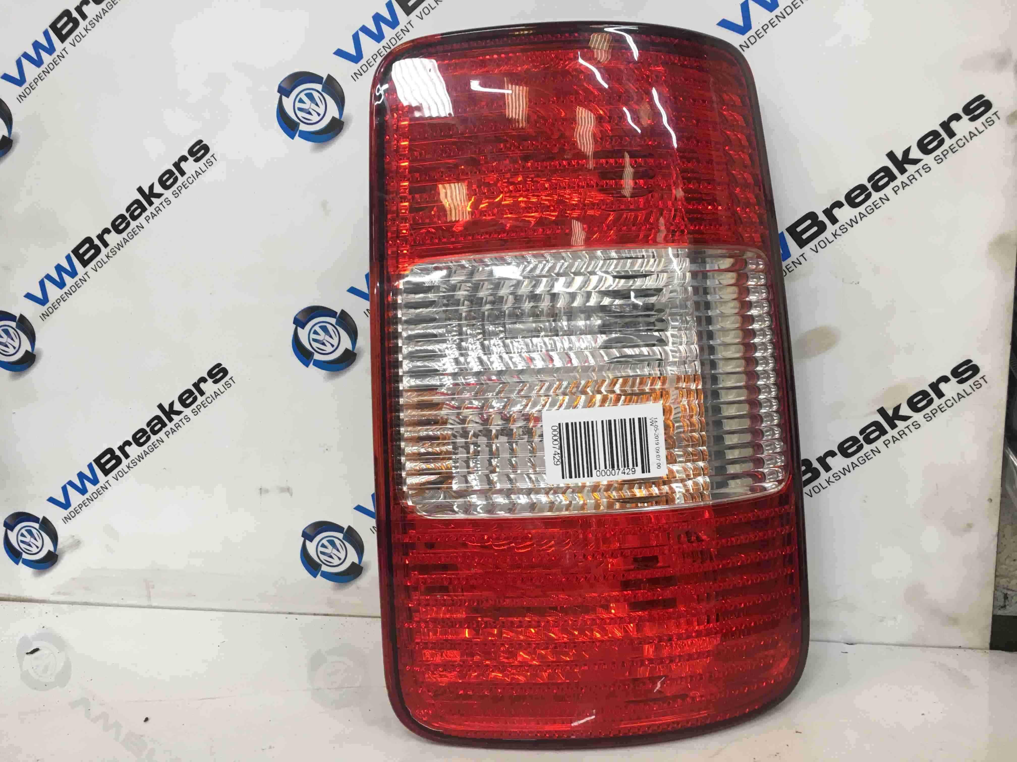 Volkswagen Caddy 2004-2010 Drivers OSR Rear Light 2K0945258A