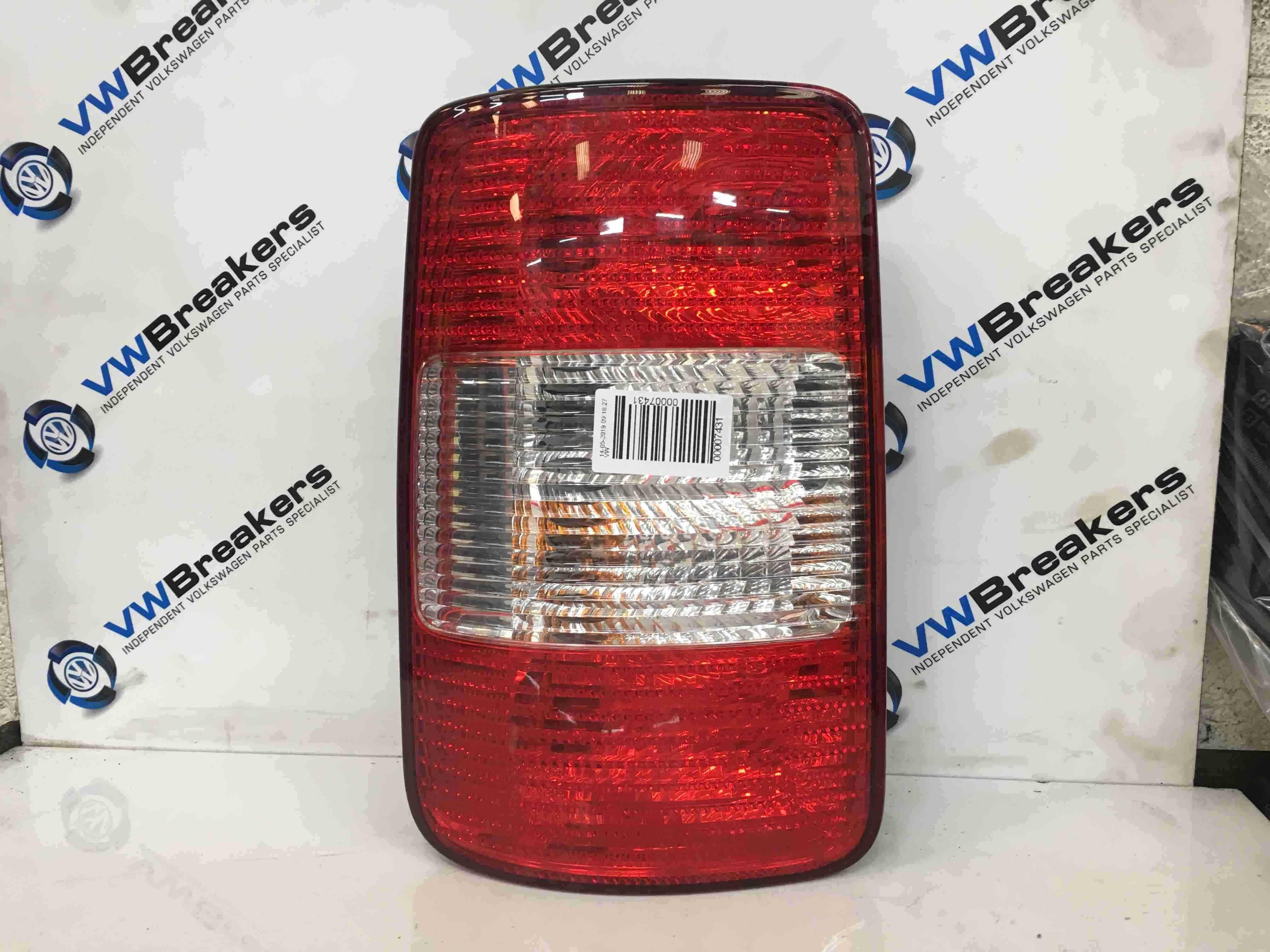 Volkswagen Caddy 2004-2010 Passenger NSR Rear Light 2K0945257A