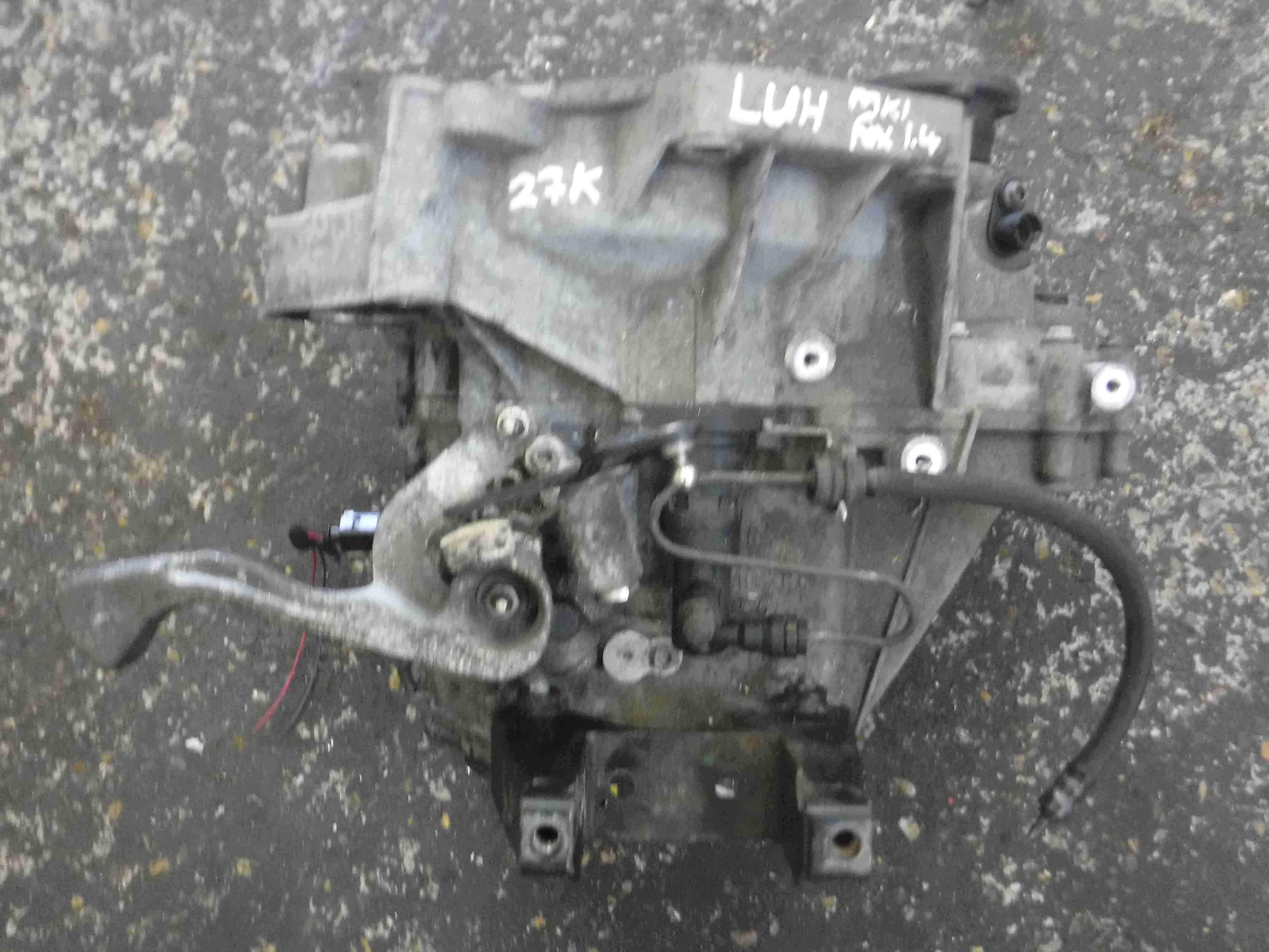Volkswagen Fox 2005-2011 1.4 8v Gearbox LUH