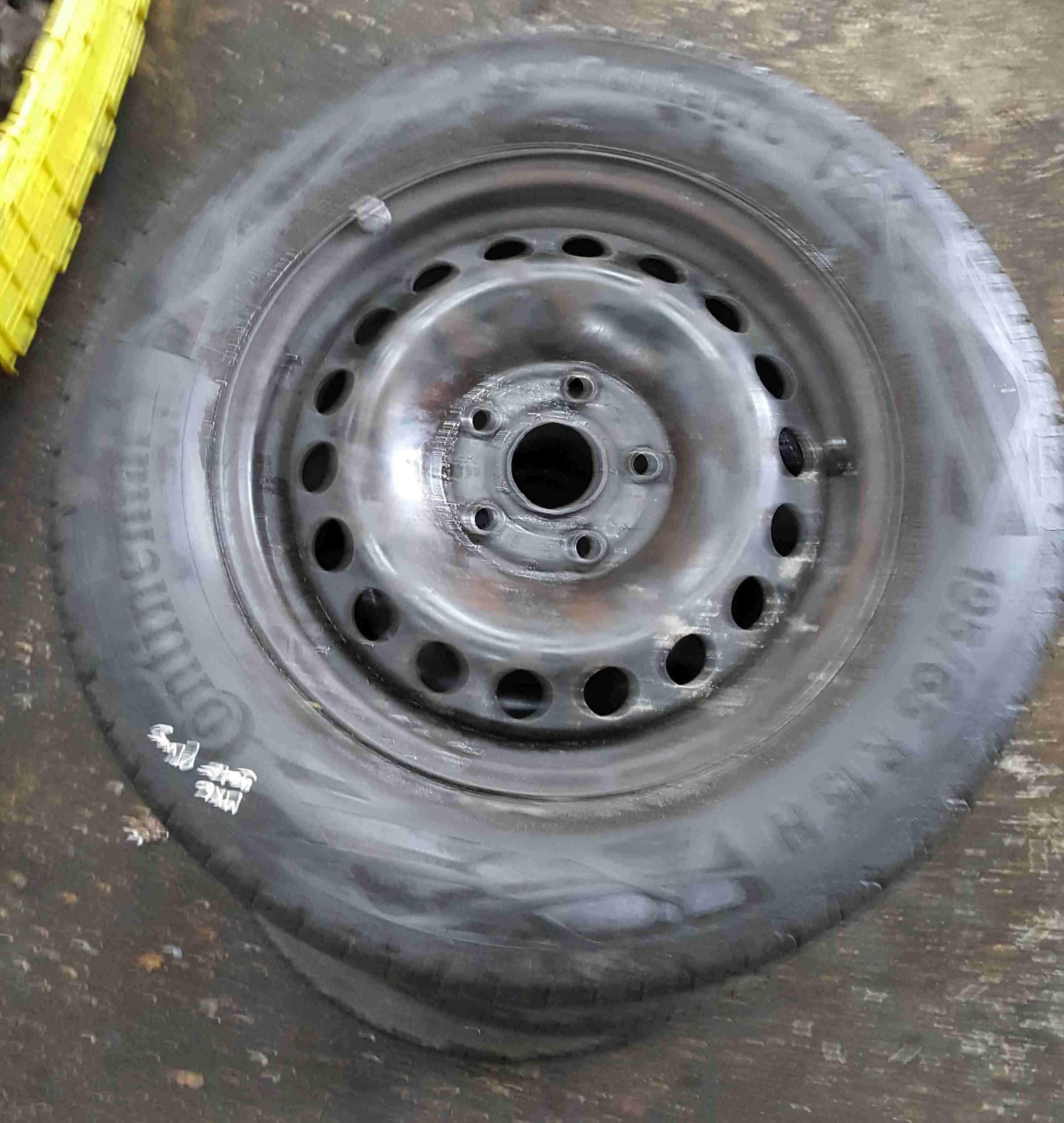 Volkswagen Golf MK6 2009-2012 Spare Steel Wheel Rim + Tyre 195 65 15 6mm