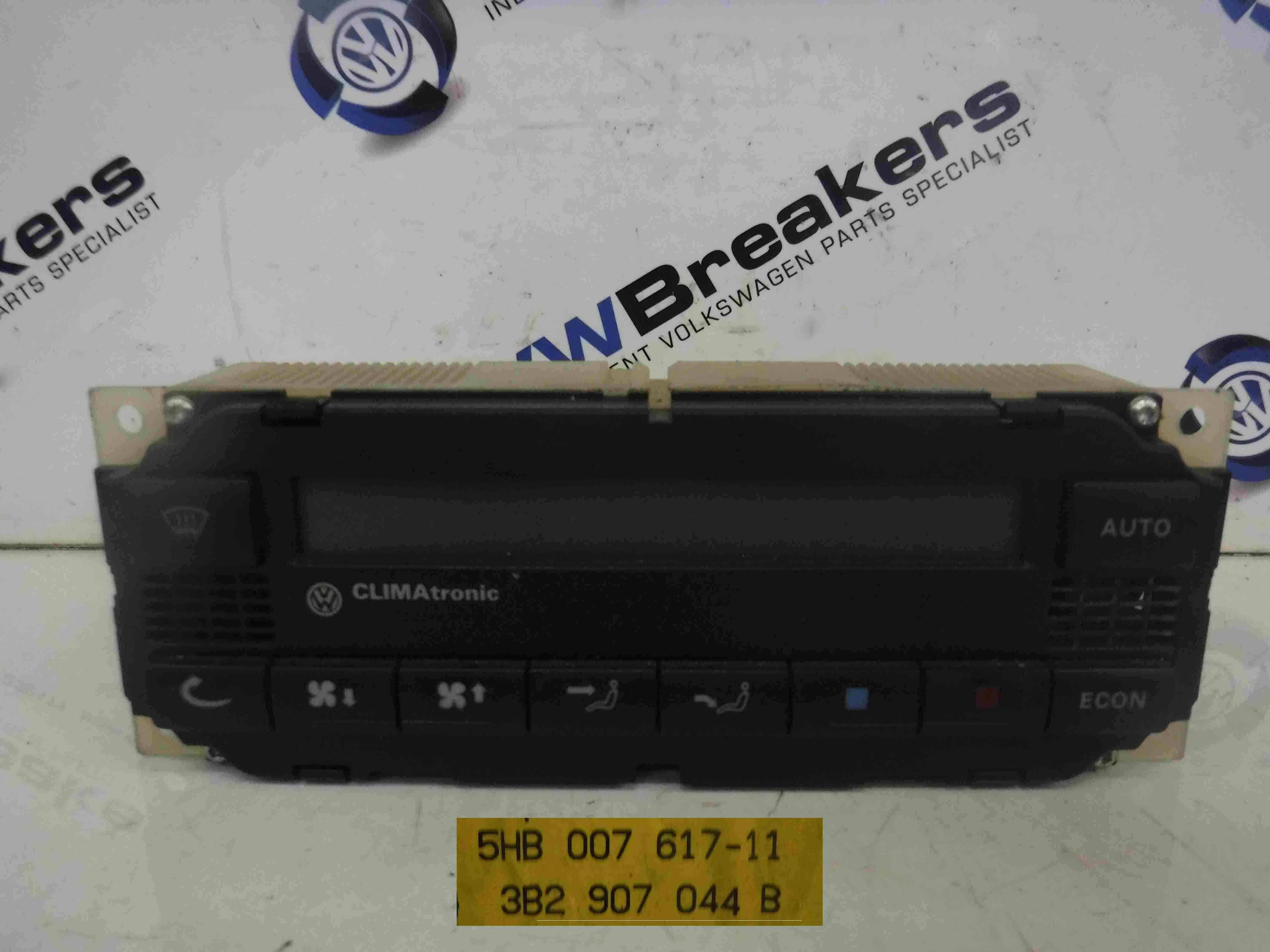 Volkswagen Golf 1997-2004 Heater Controls Climate Control Unit 5HB007617