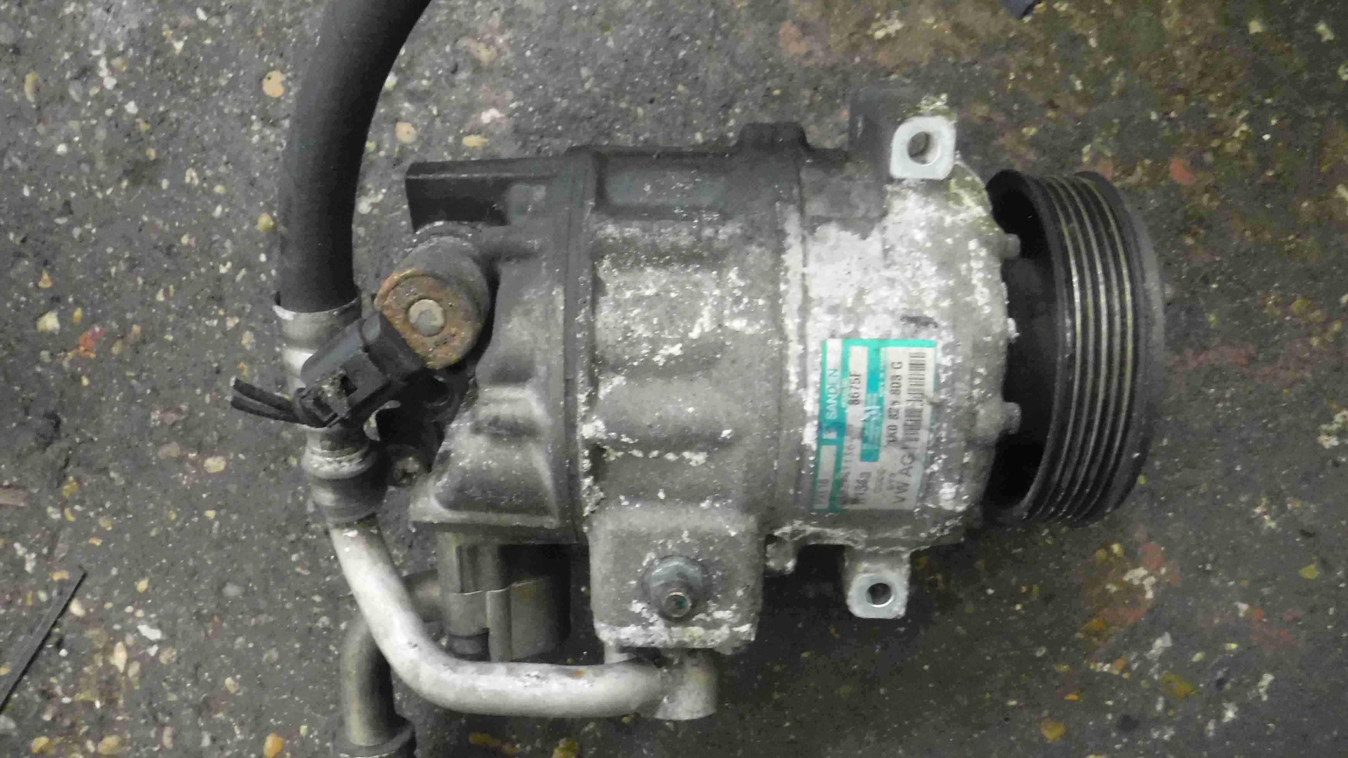 Volkswagen Golf 2003-2009 Aircon Pump Compressor Unit 1K0820803G