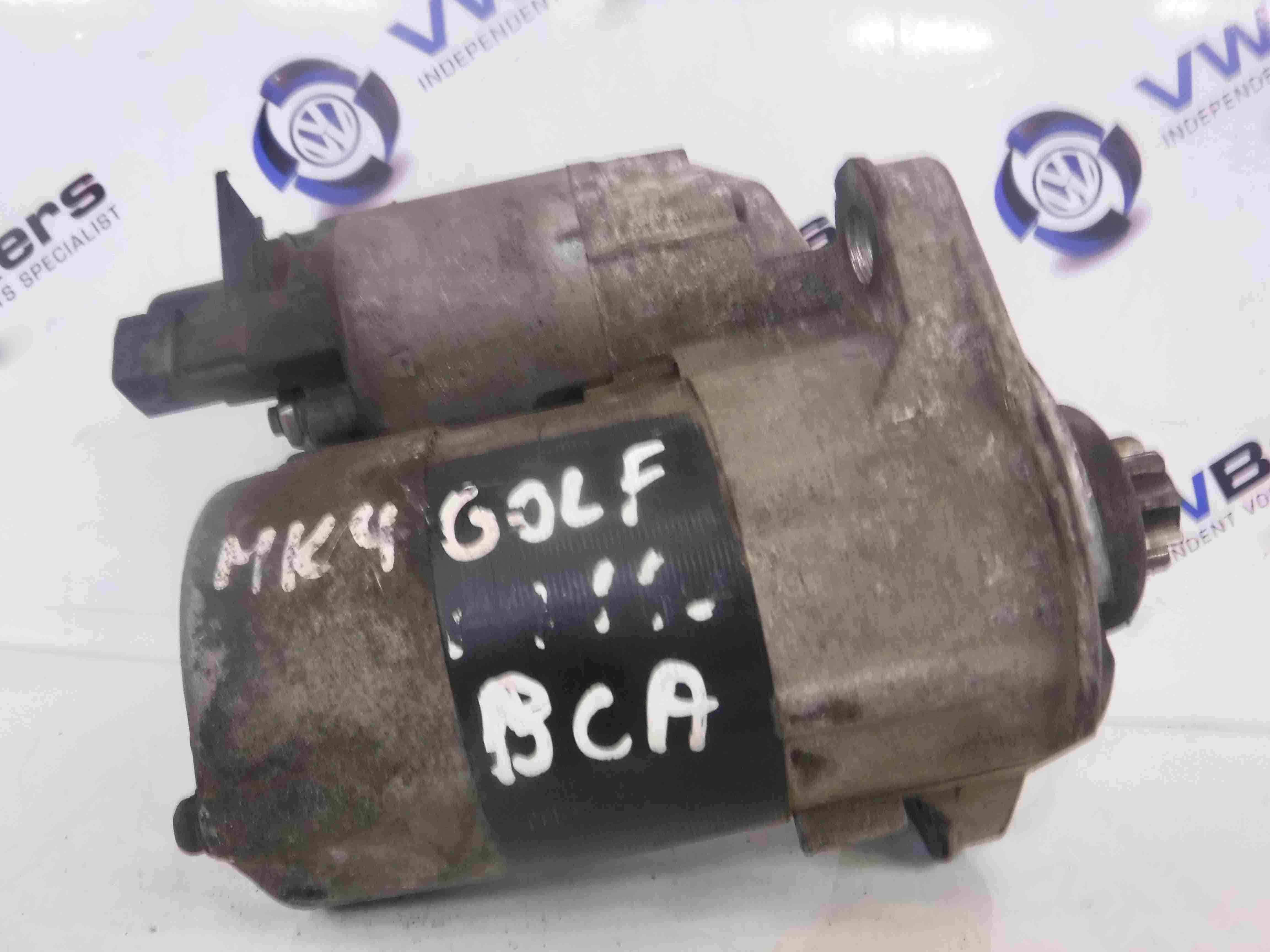 Volkswagen Golf MK4 1997-2004 1.4 16v Starter Motor Starting BCA 020911023S