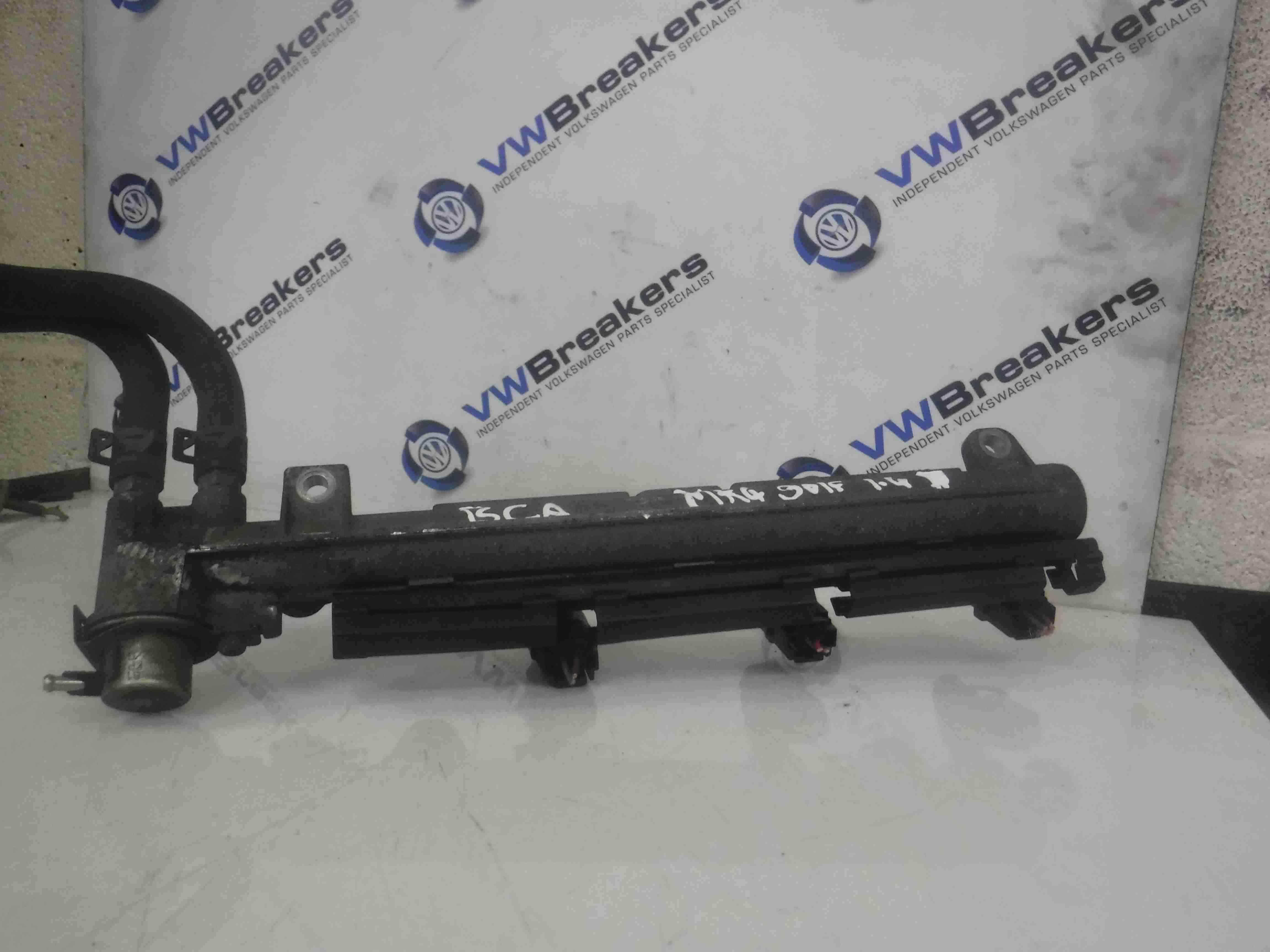 Volkswagen Golf MK4 1997-2004 1.4 16v Fuel Injectors  Rail BCA 036133319AA