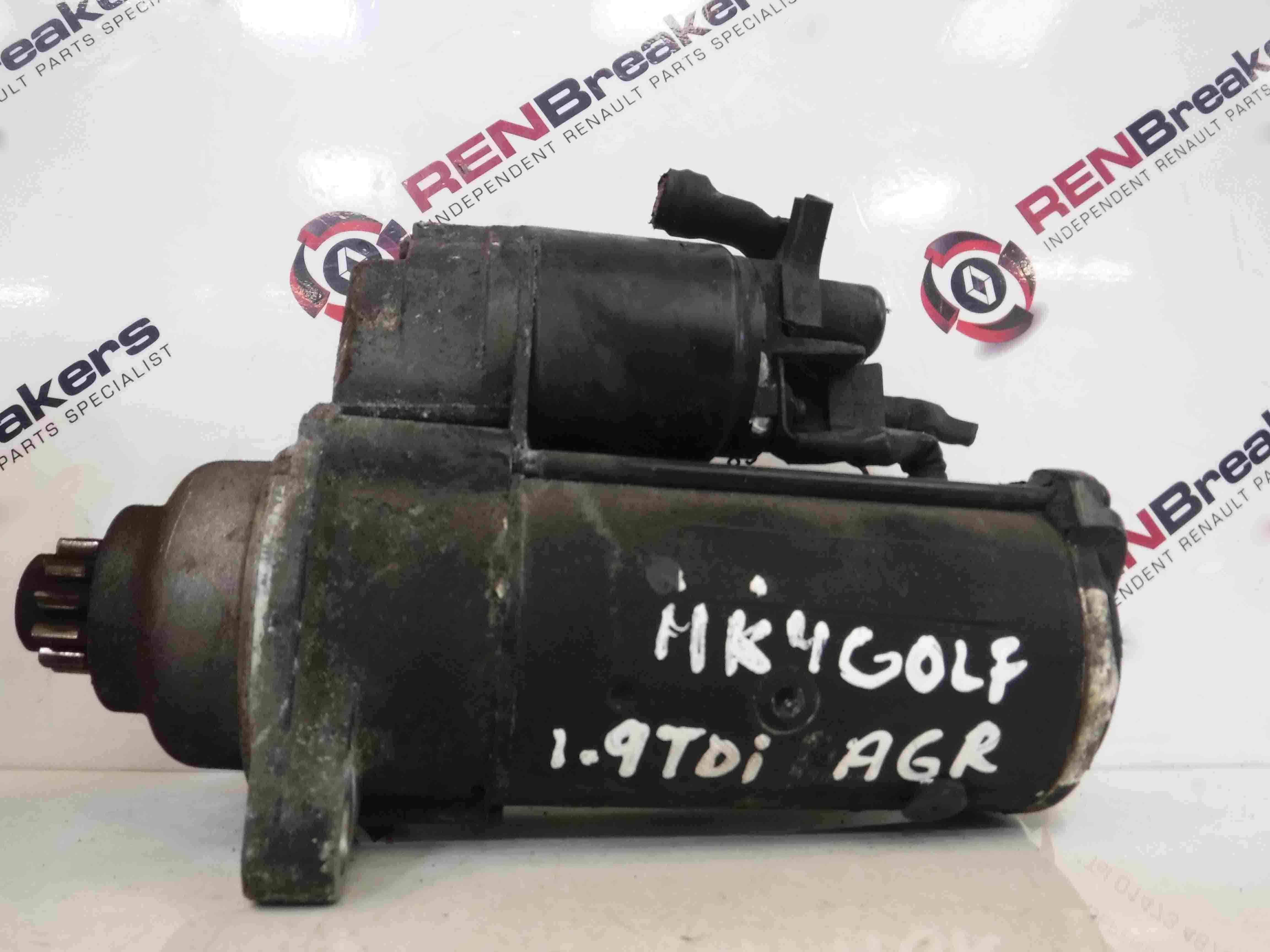 Volkswagen Golf MK4 1997-2004 1.9 tDi Starter Motor Starting ASZ 02M911023C