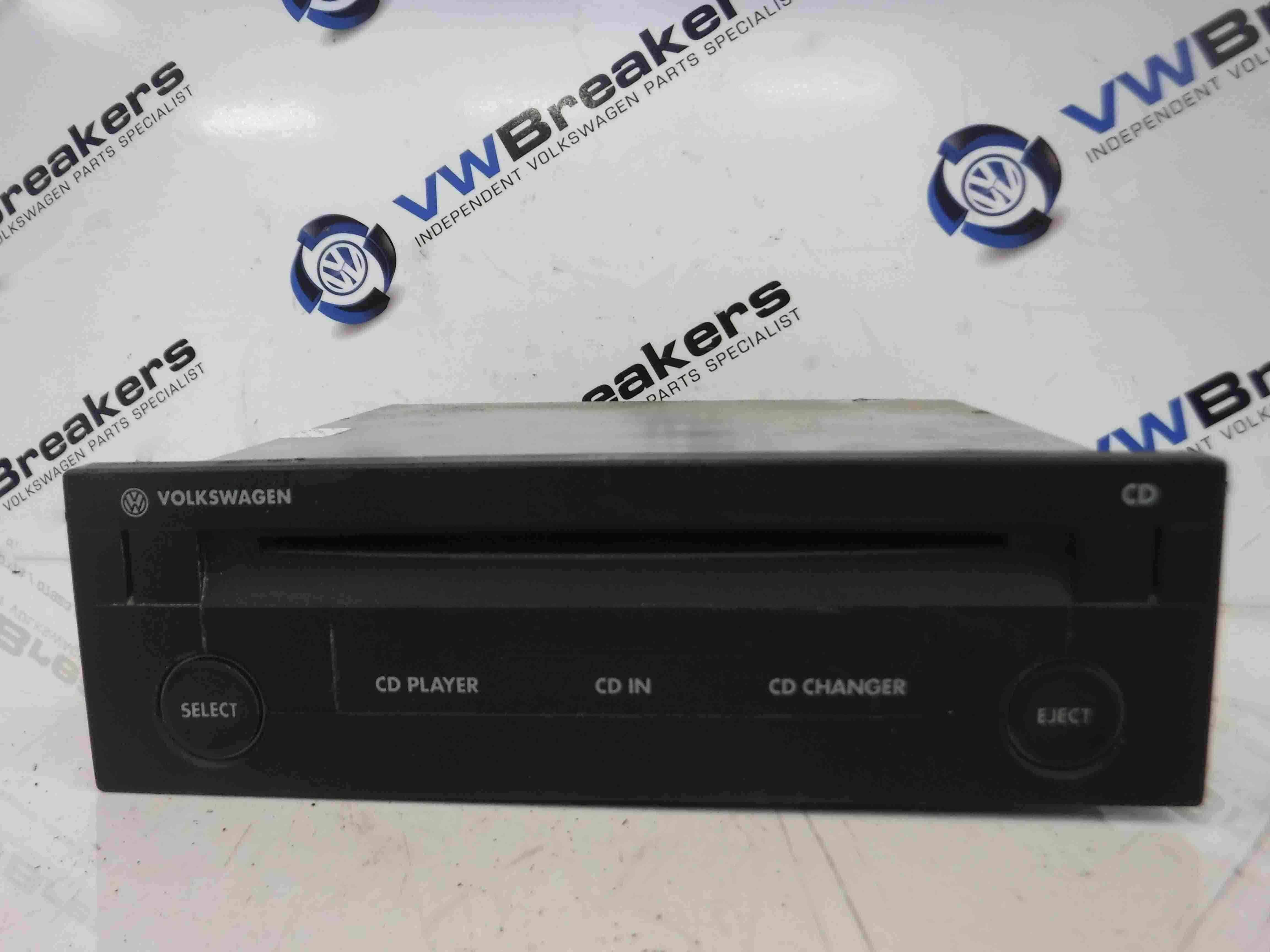 Volkswagen Golf MK4 1997-2004 CD Changer CD Player