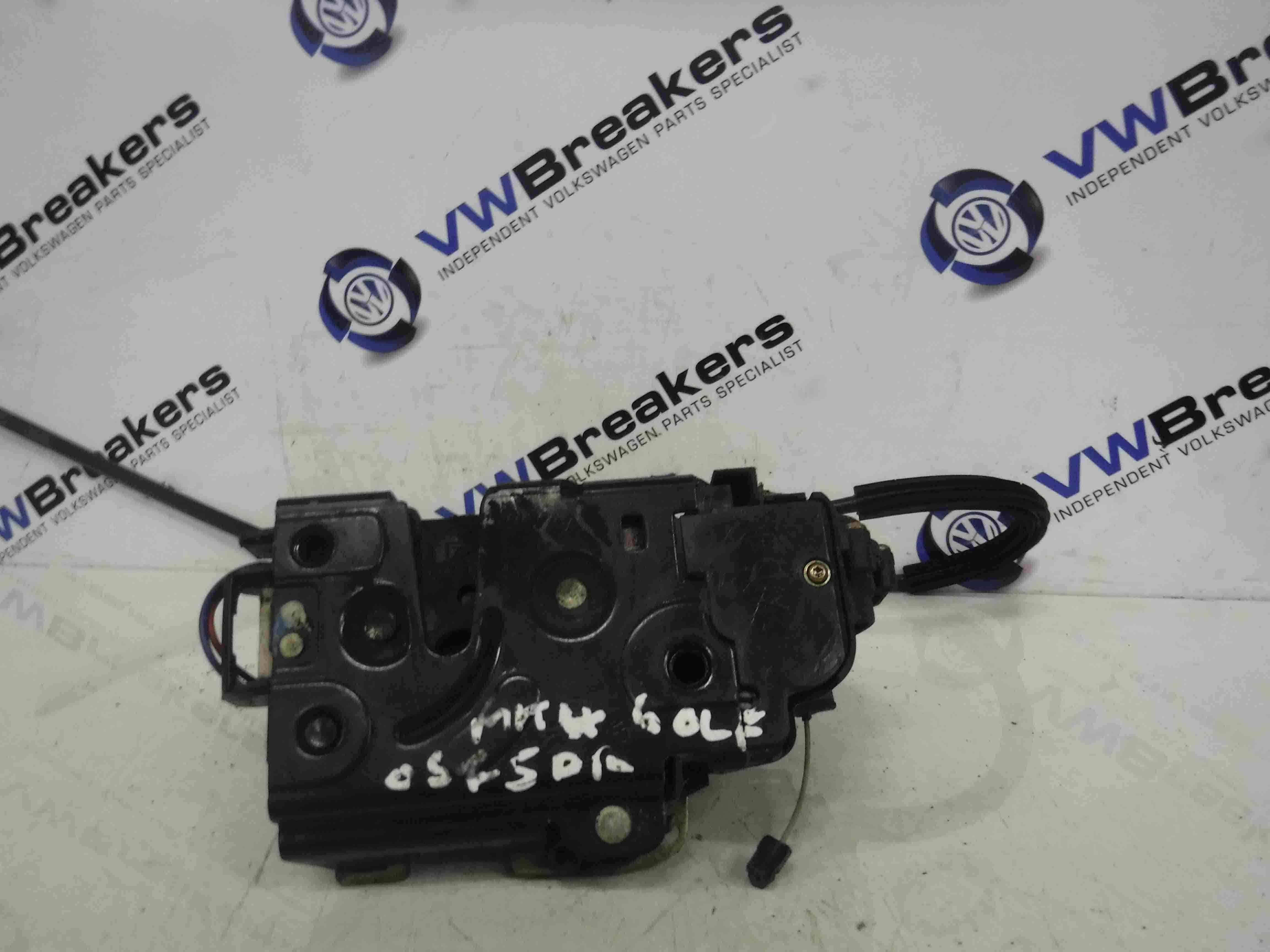 Volkswagen Golf MK4 1997-2004 Drivers OSF Front Door Lock Mechanism 5dr
