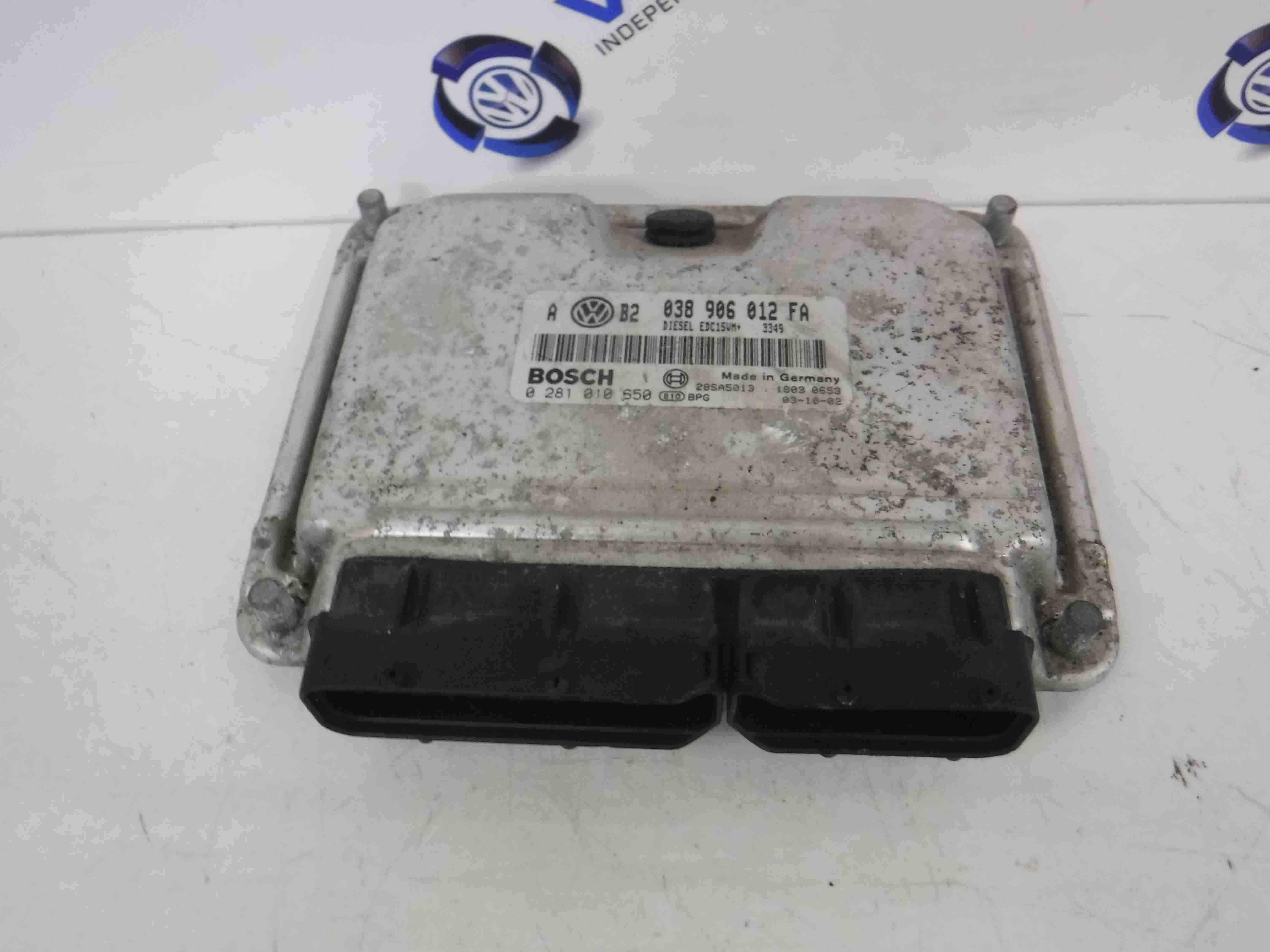 Volkswagen Golf MK4 1997-2004 Engine Control Unit ECU Computer 038906012FA