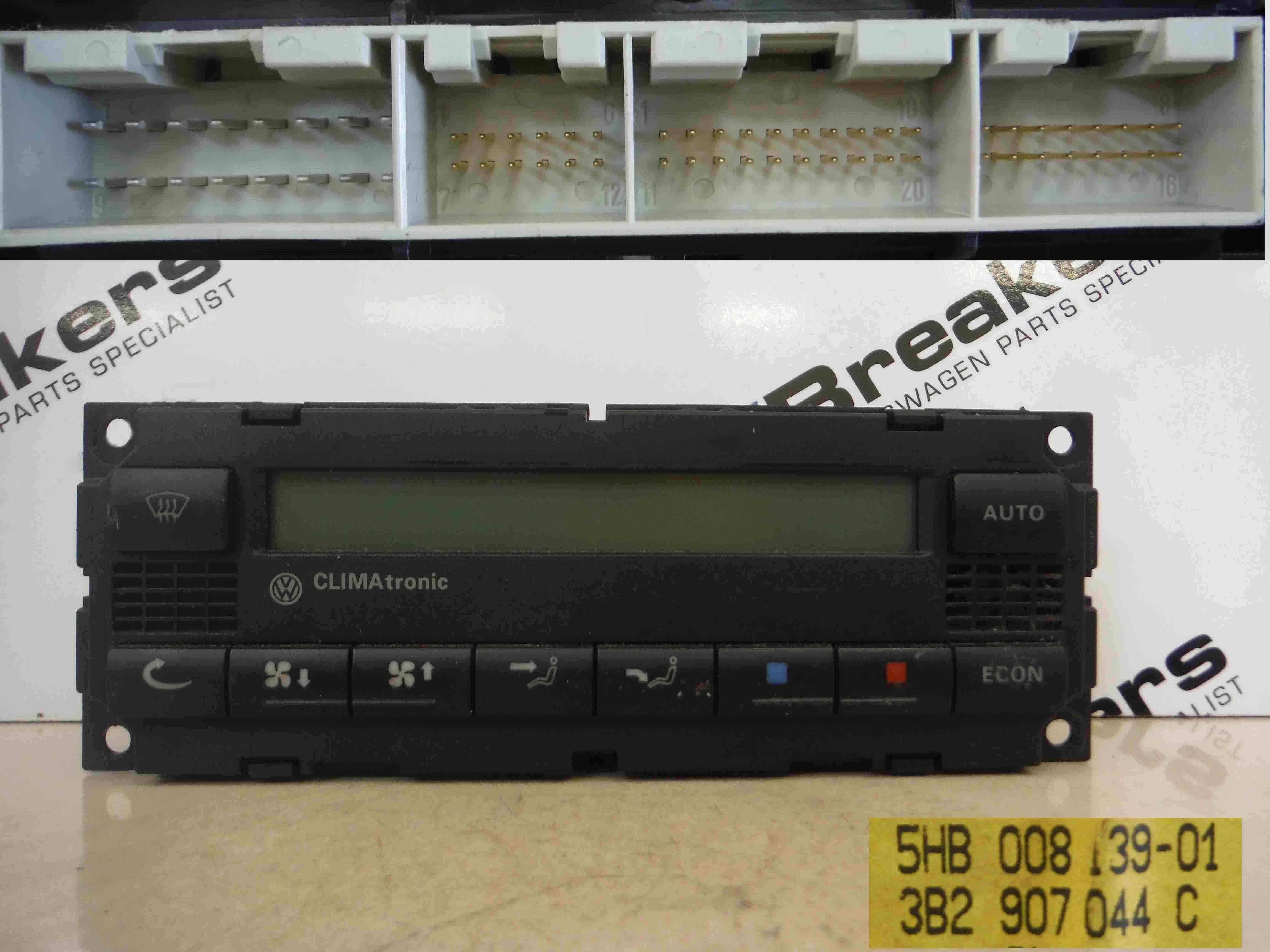 Volkswagen Golf MK4 1997-2004 Heater Blower Fan Controls Dials Climate Control