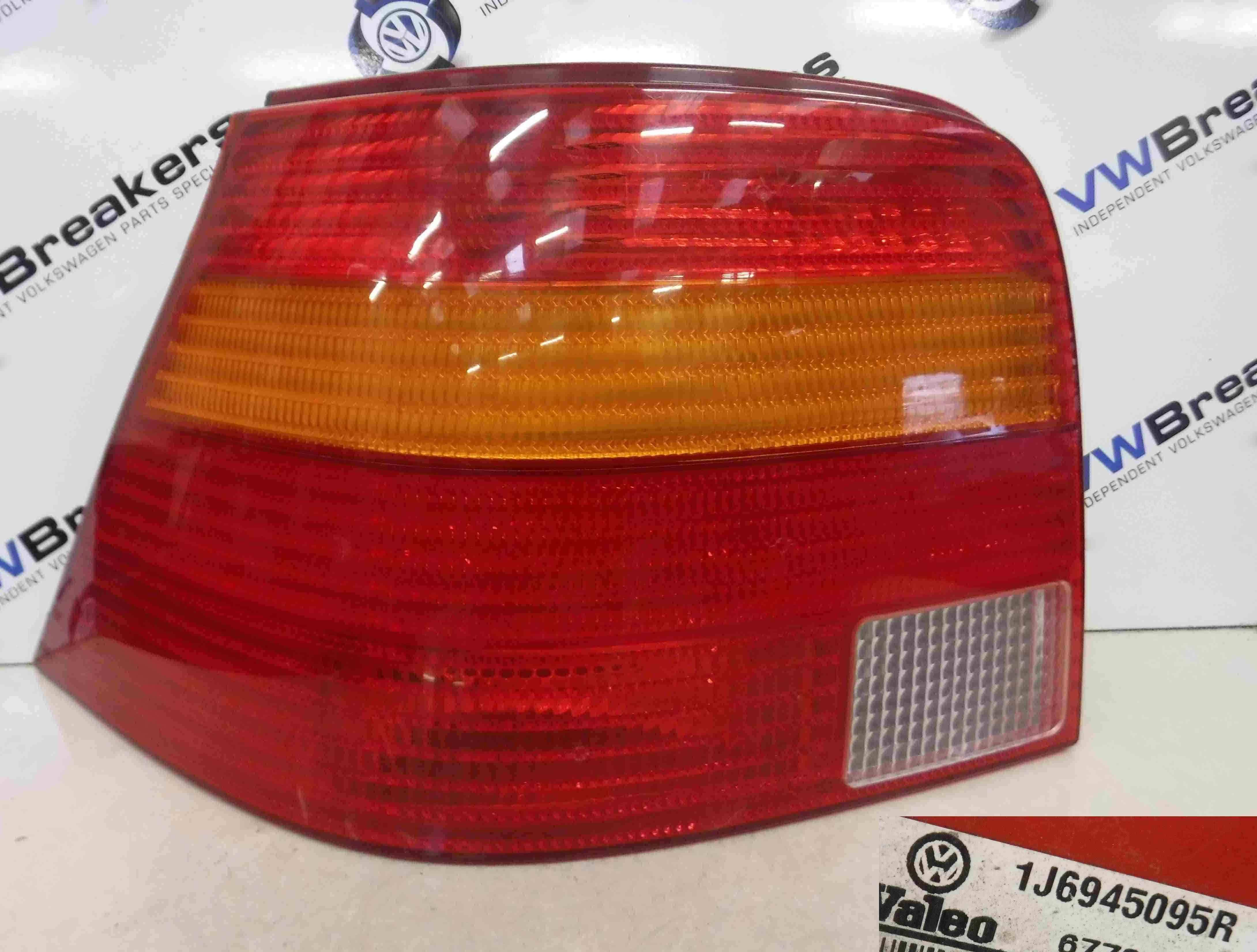 Volkswagen Golf MK4 1997-2004 Passenger NSR Rear Light Lens + Cluster 1J6945095R