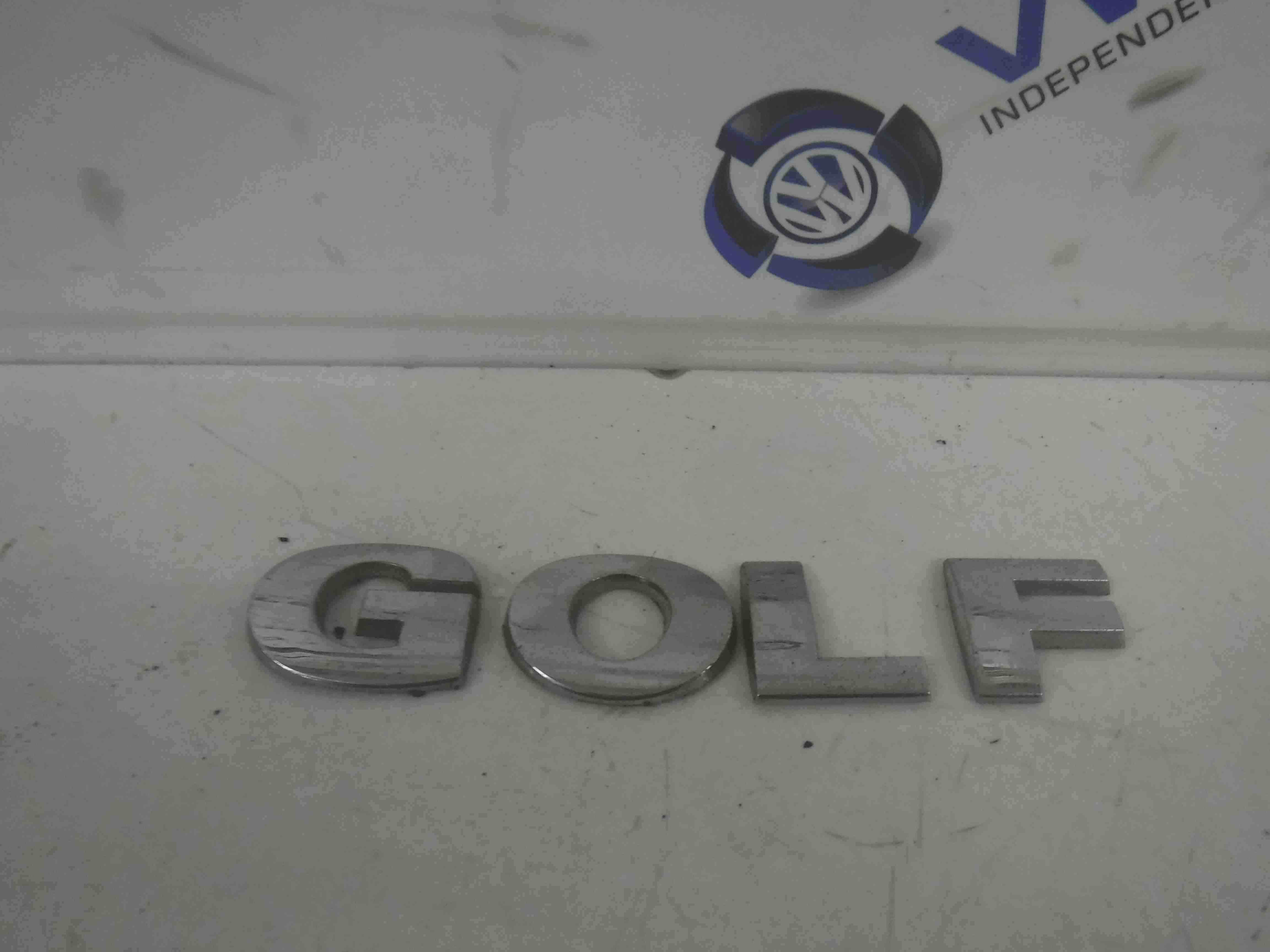 Volkswagen Golf MK4 1997-2004 Rear Boot Tailgate Letters Emblem Badge