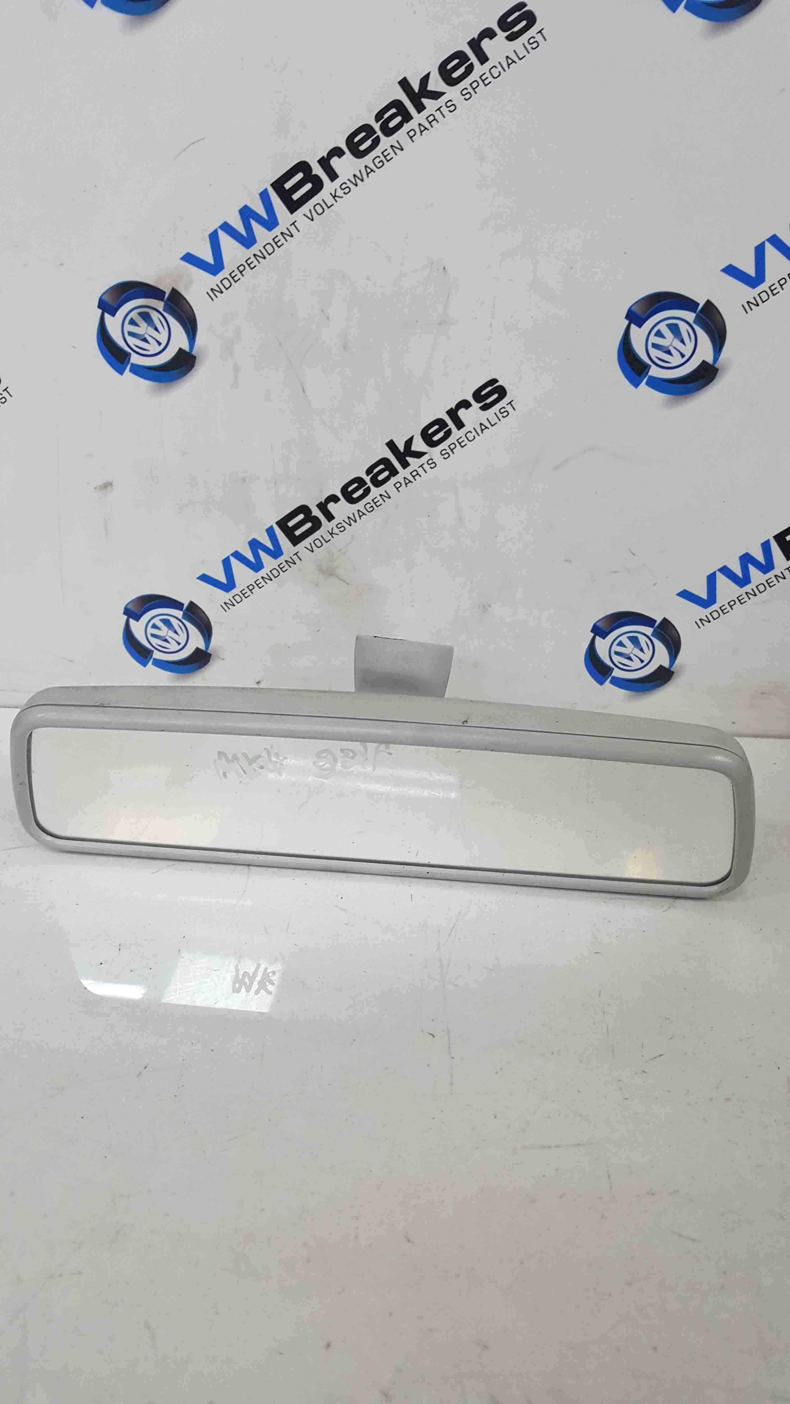 Volkswagen Golf MK4 1997-2004 Rear View Mirror Light Grey