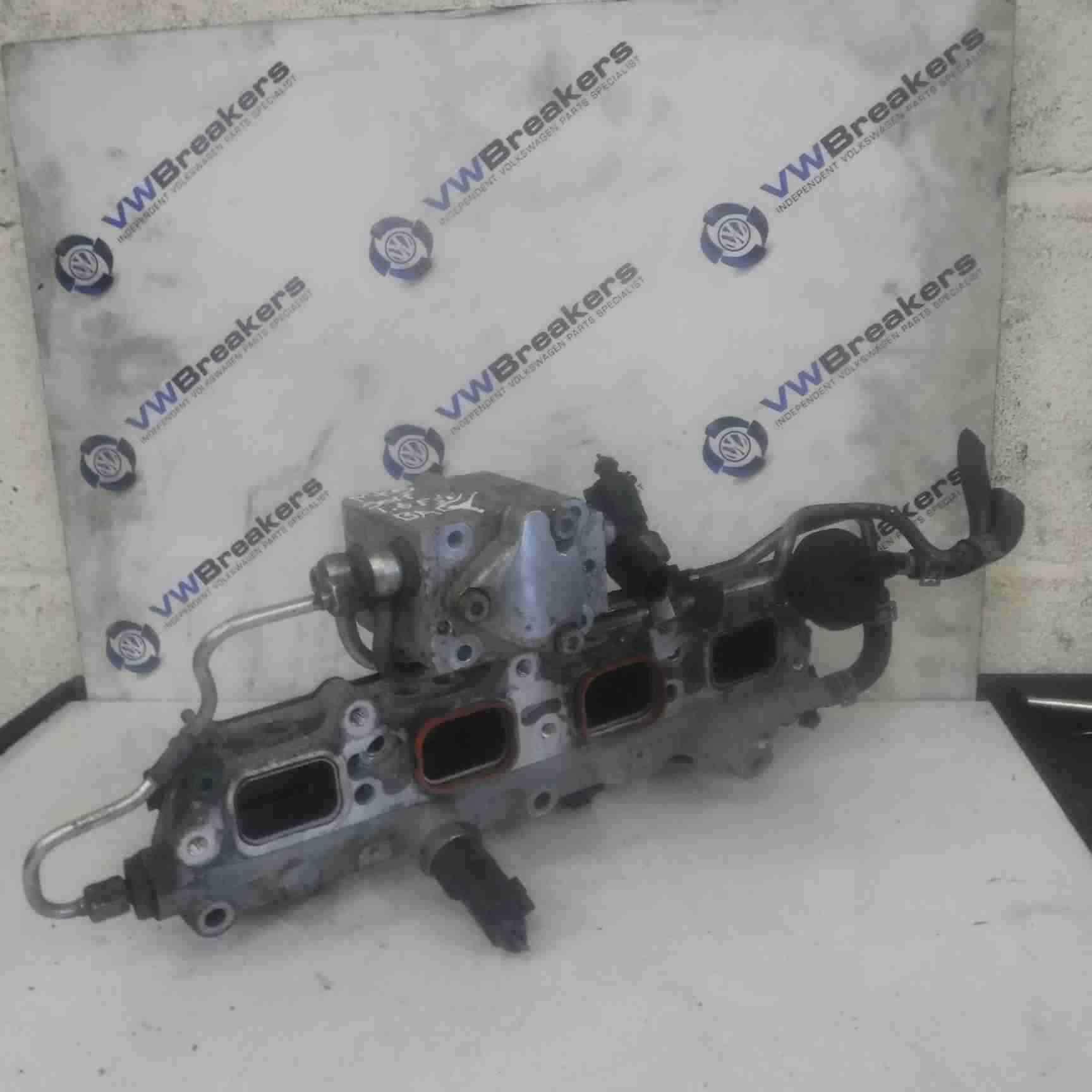 Volkswagen Golf MK5 2003-2009 1.6 FSi Fuel Injectors Rail Inlet Manifold BAG