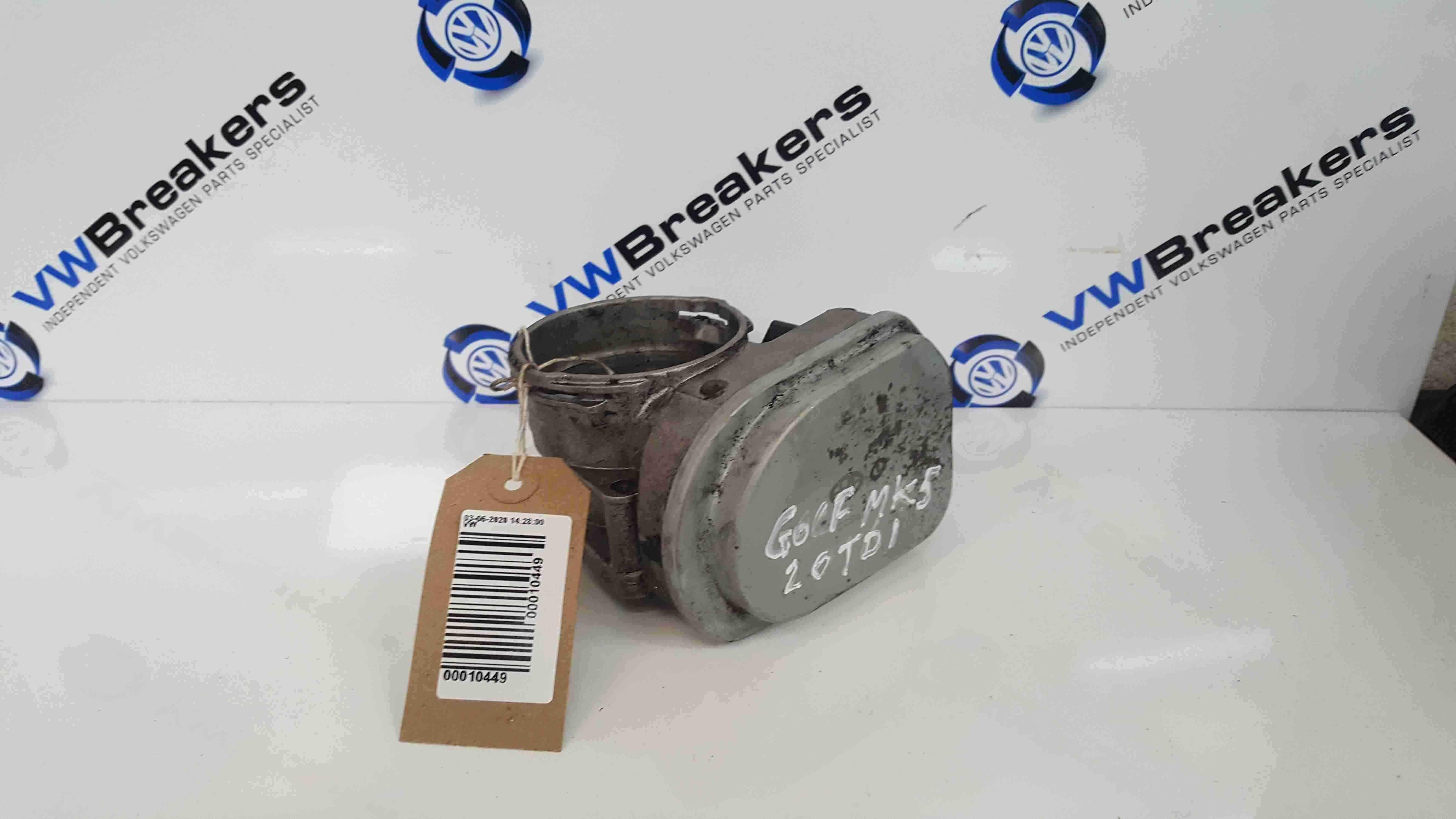 Volkswagen Golf MK5 2003-2009 1.9 2.0 TDi Throttle Body 038128063Q