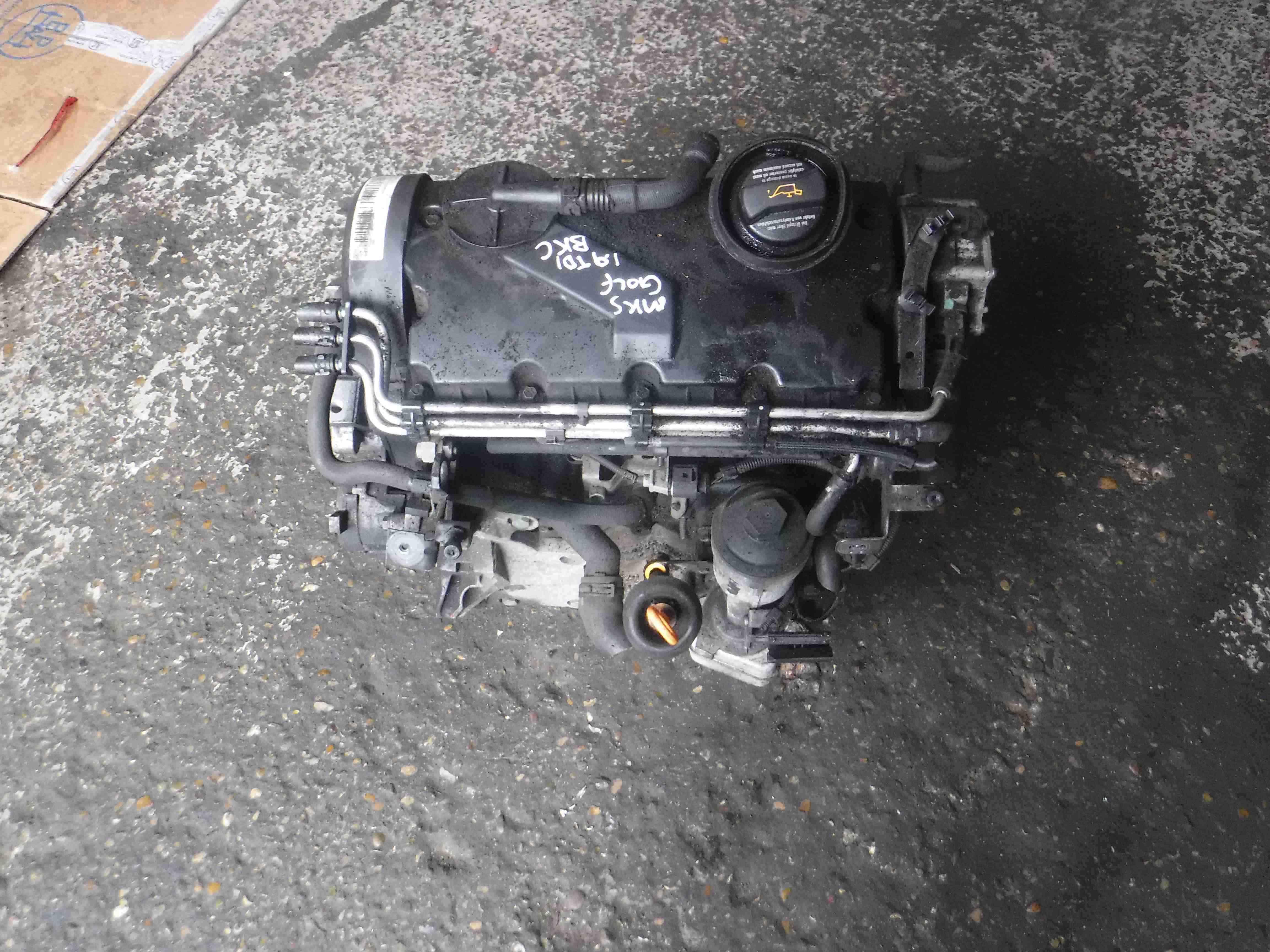 Volkswagen Golf MK5 2003-2009 1.9 TDi Engine *3 Months Warranty* BKC