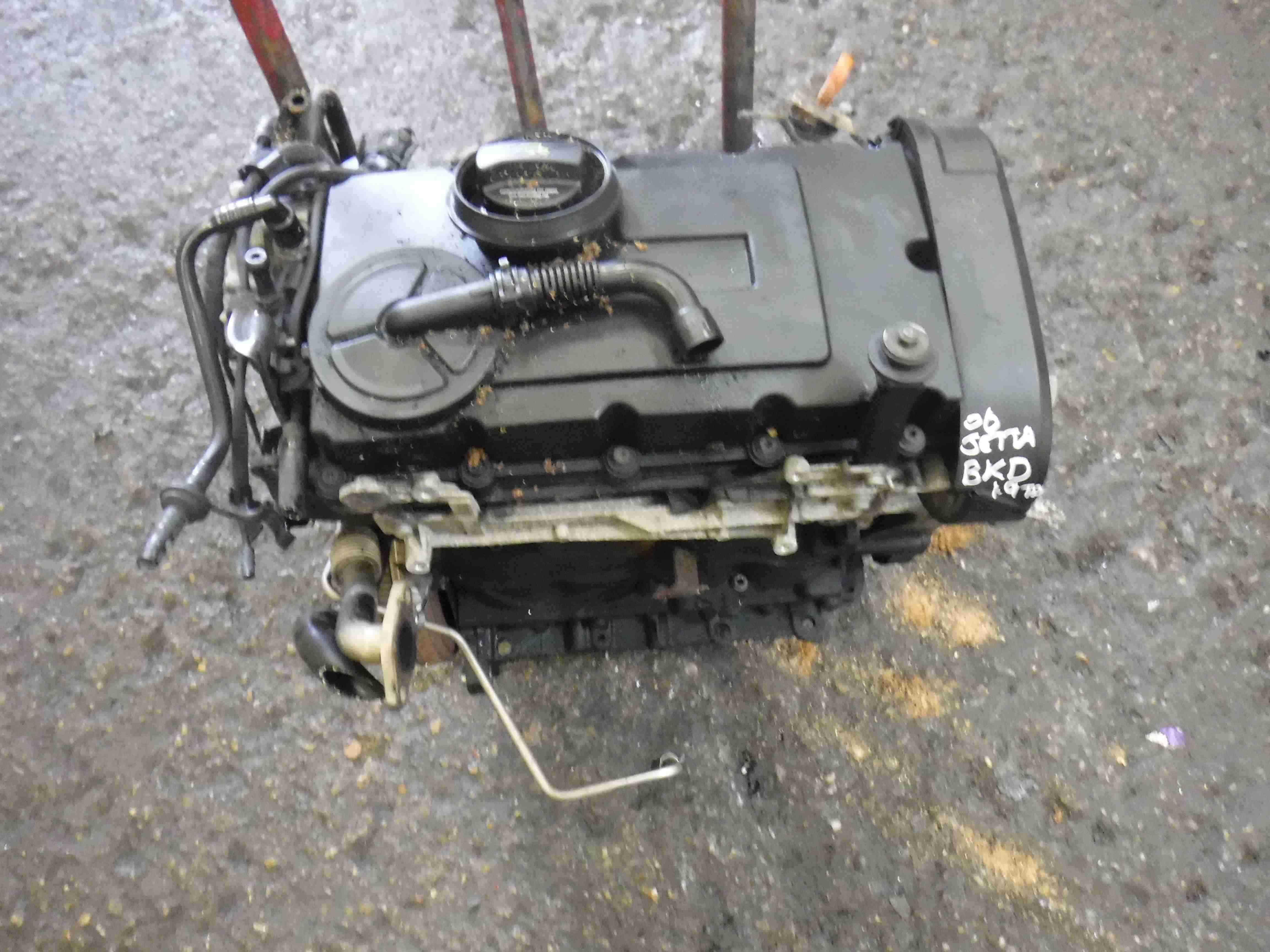 Volkswagen Golf MK5 Touran 2003-2009 2.0 TDI Diesel Engine 3 Month Warranty BKD