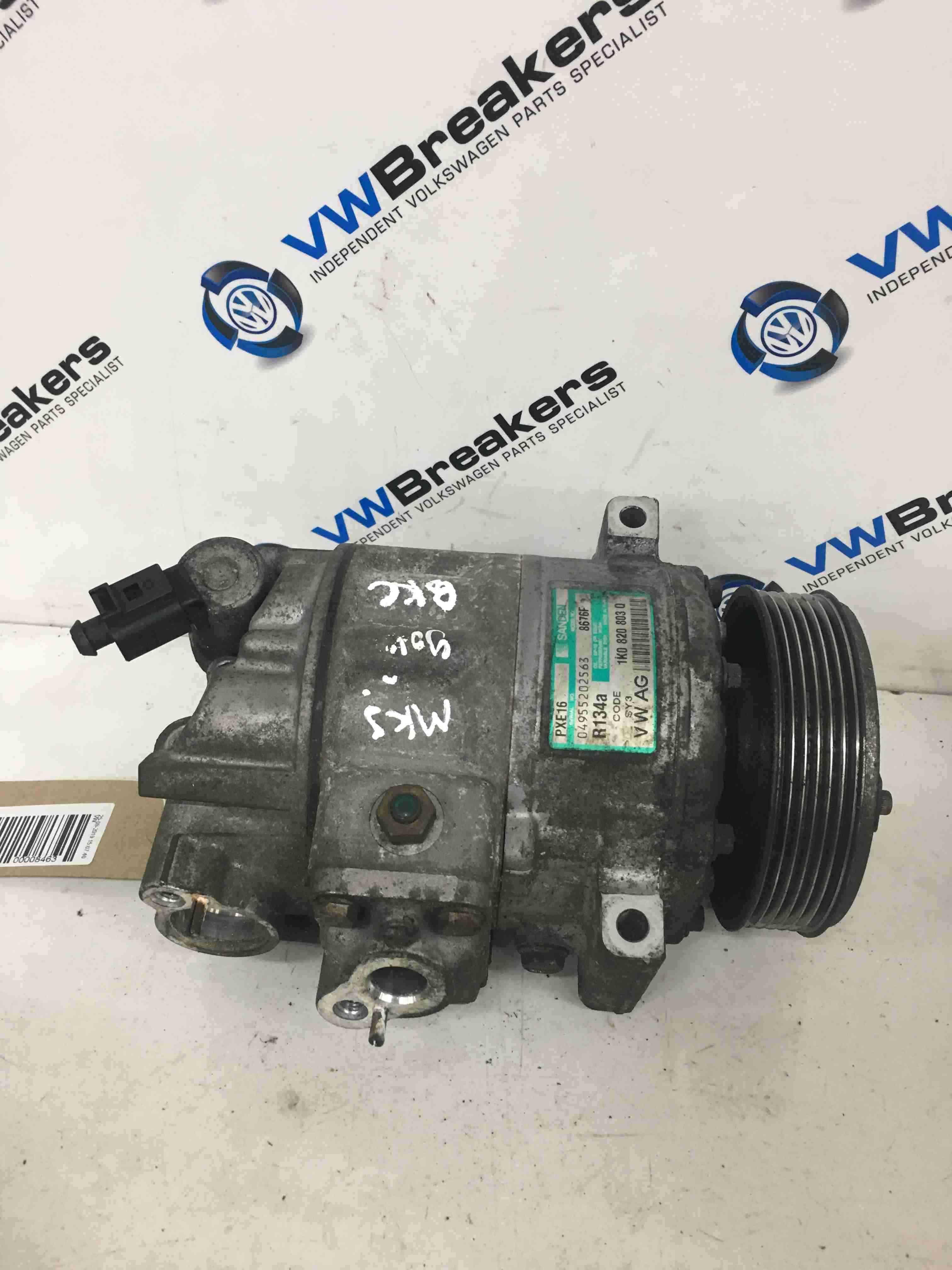Volkswagen Golf MK5  Passat B6 2003-2009 Aircon Pump Compressor Unit 1K0820803Q