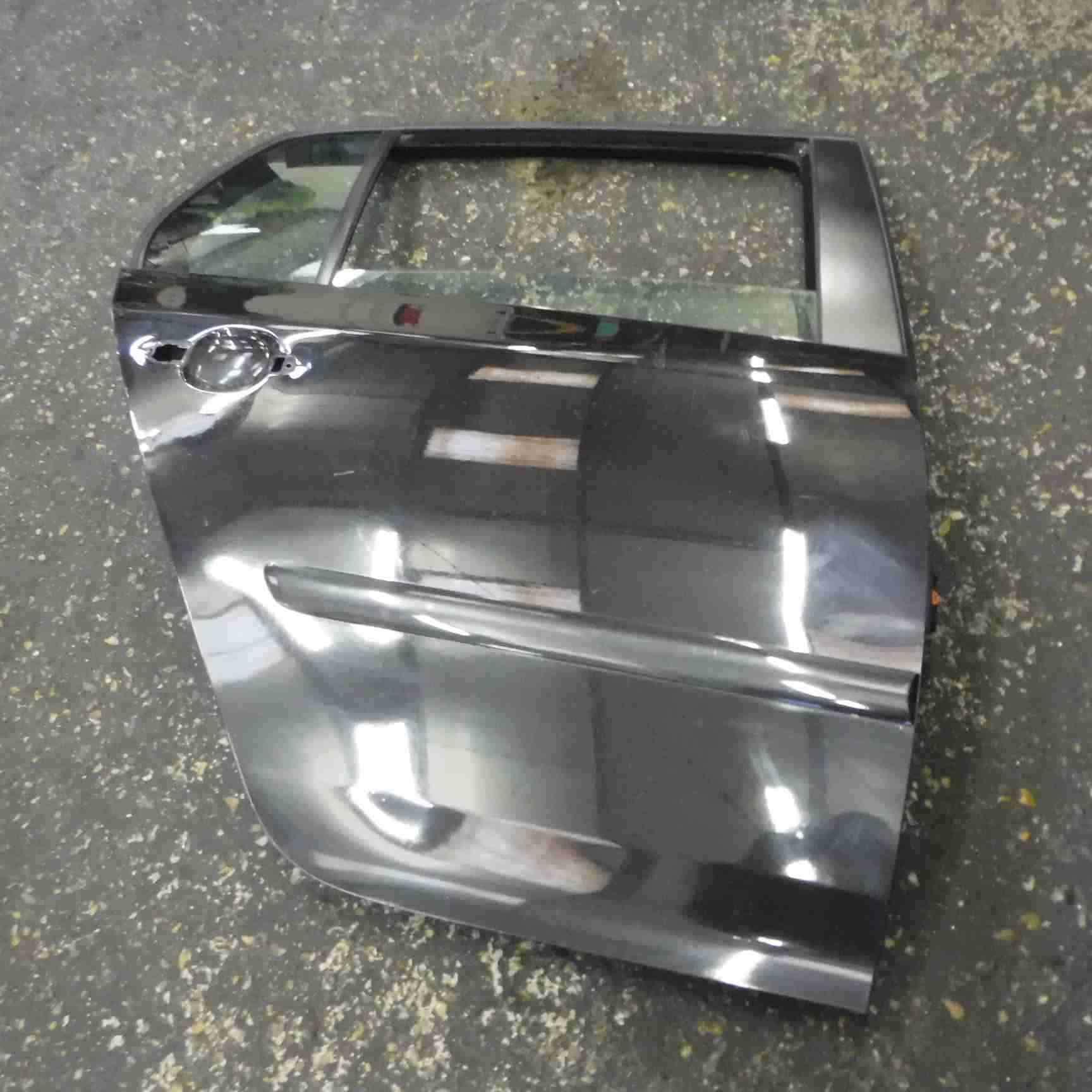 Volkswagen Golf MK5 2003-2009 Drivers OSR Rear Door Black LC9Z