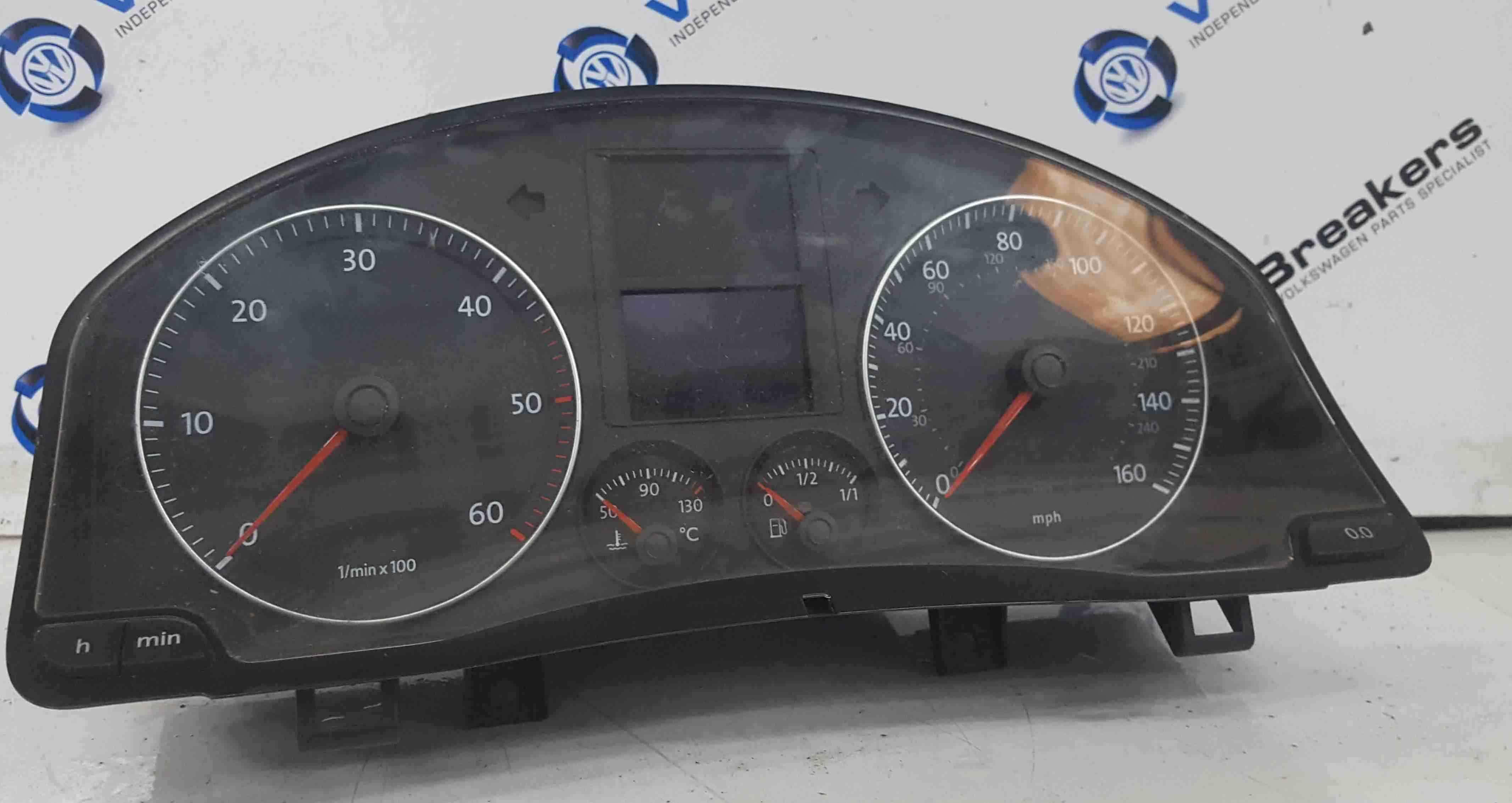 Volkswagen Golf MK5 2003-2009 GT Instrument Panel Dials Clocks Gauges 1K0920964B