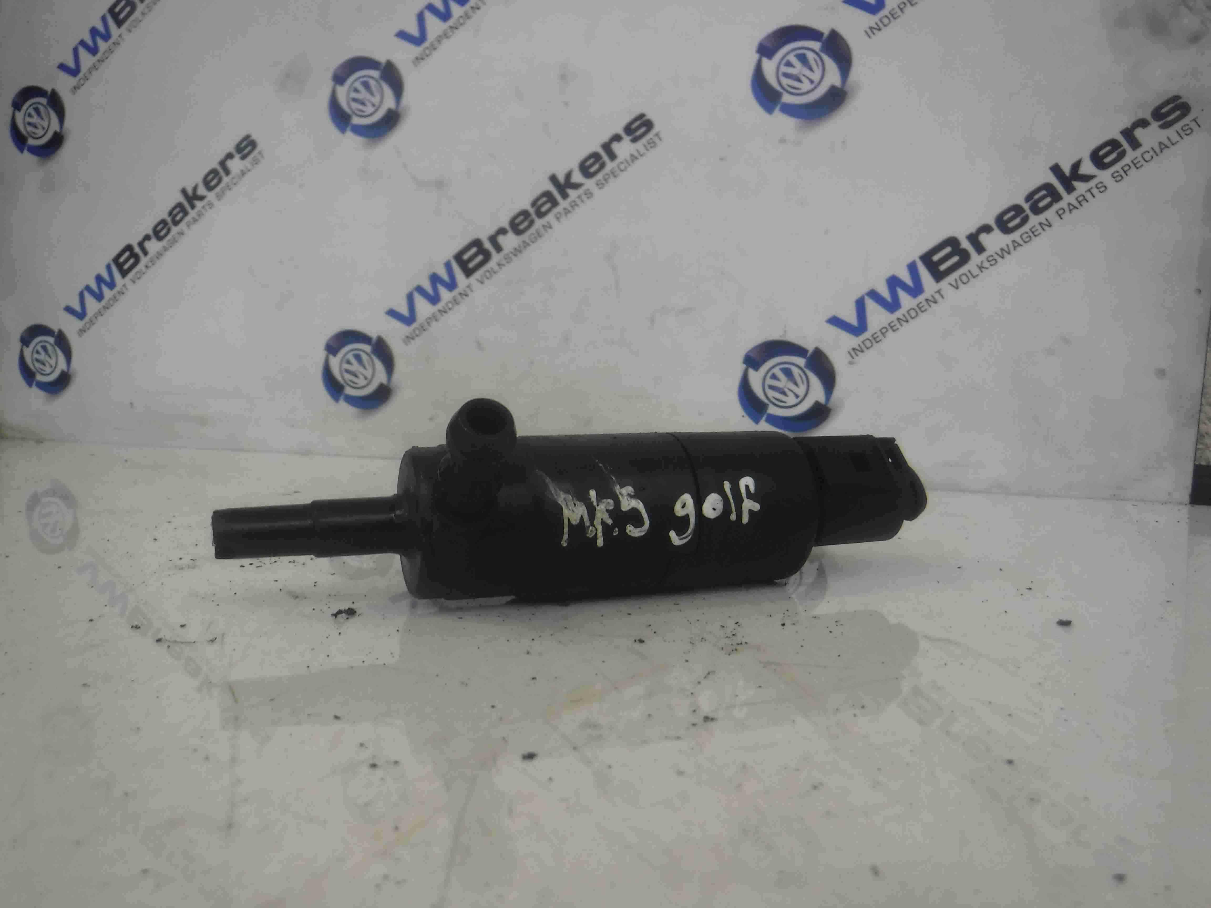 Volkswagen Golf MK5 2003-2009 Headlight Washer Pump Motor 3B7955681