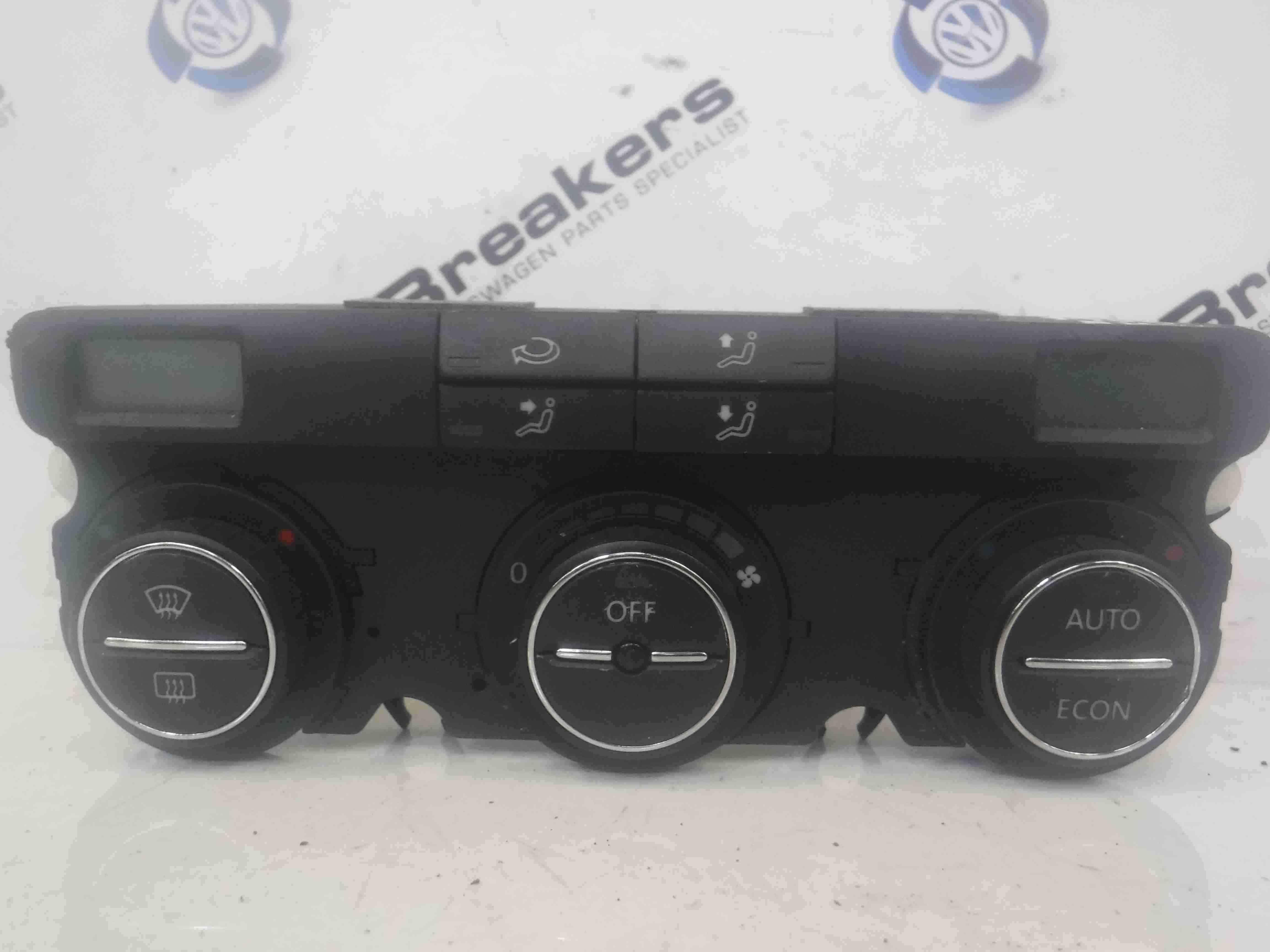 Volkswagen Golf MK5 2003-2009 Heater Controls Climate Control Panel