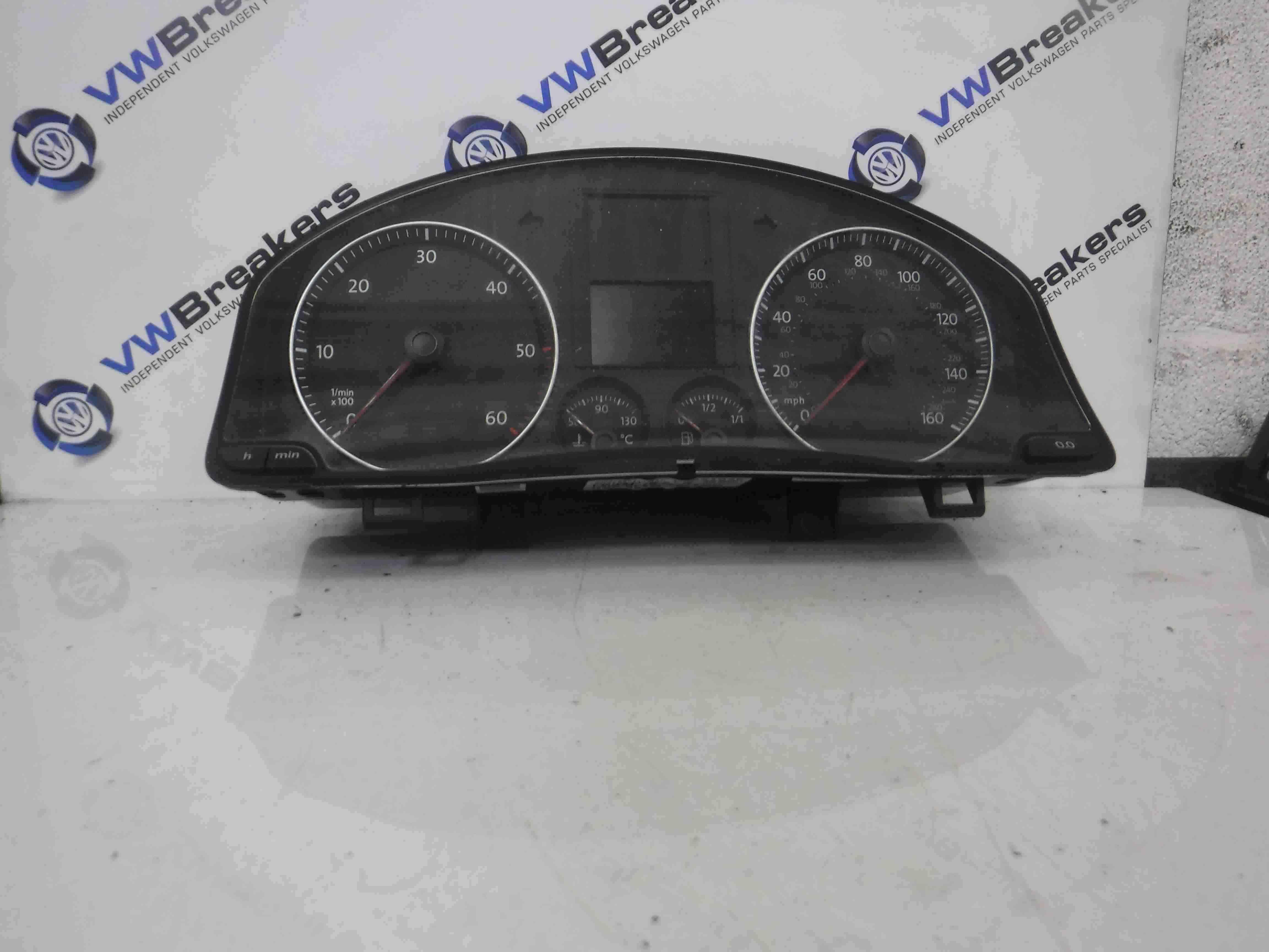 Volkswagen Golf MK5 2003-2009 Instrument Panel Clocks Cluster Gauges 1K0920961B