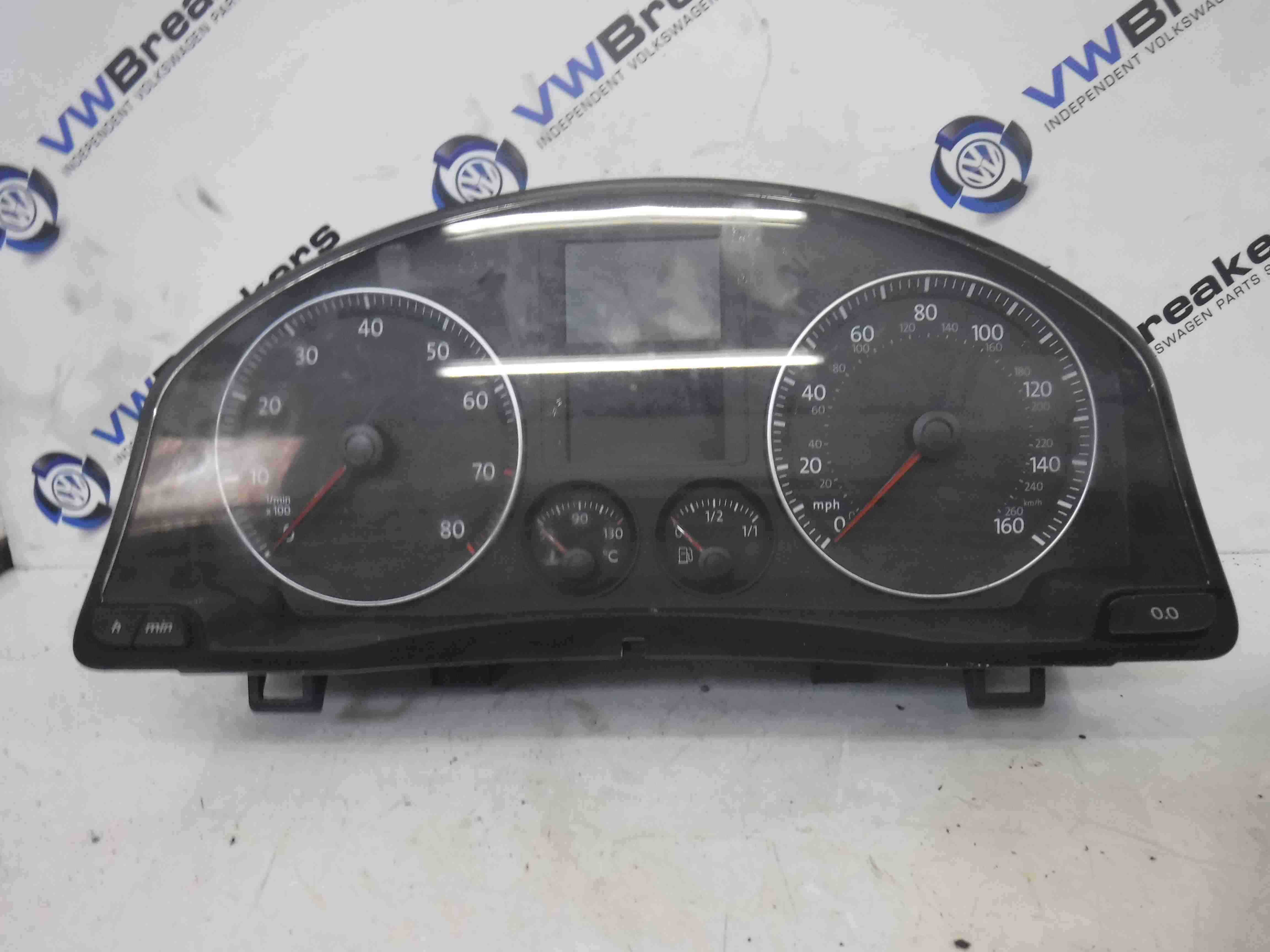 Volkswagen Golf MK5 2003-2009 Instrument Panel Dials Cluster 1K0920961A