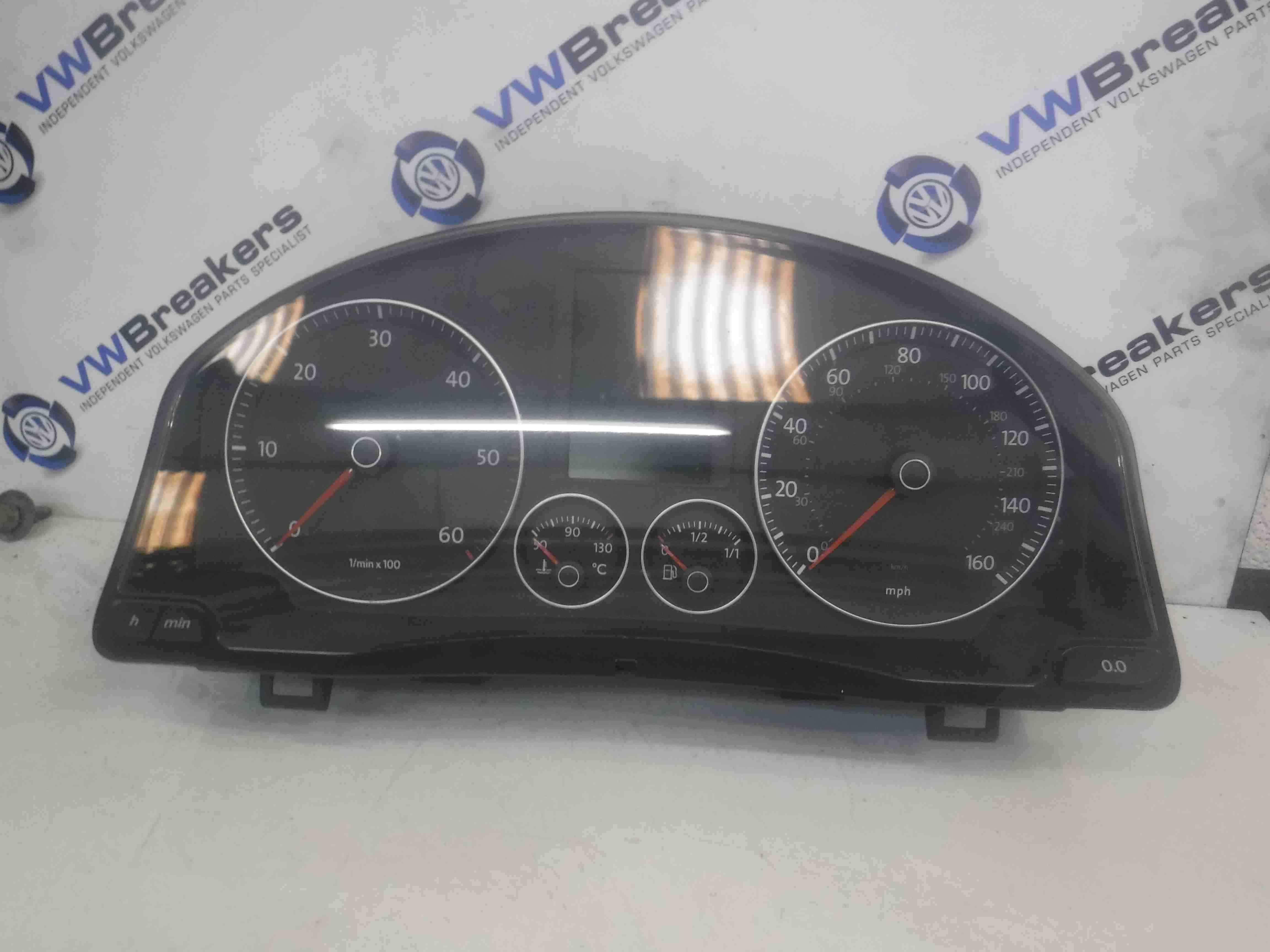 Volkswagen Golf MK5 2003-2009 Instrument Panel Dials Gauges Clocks 1K0920974B