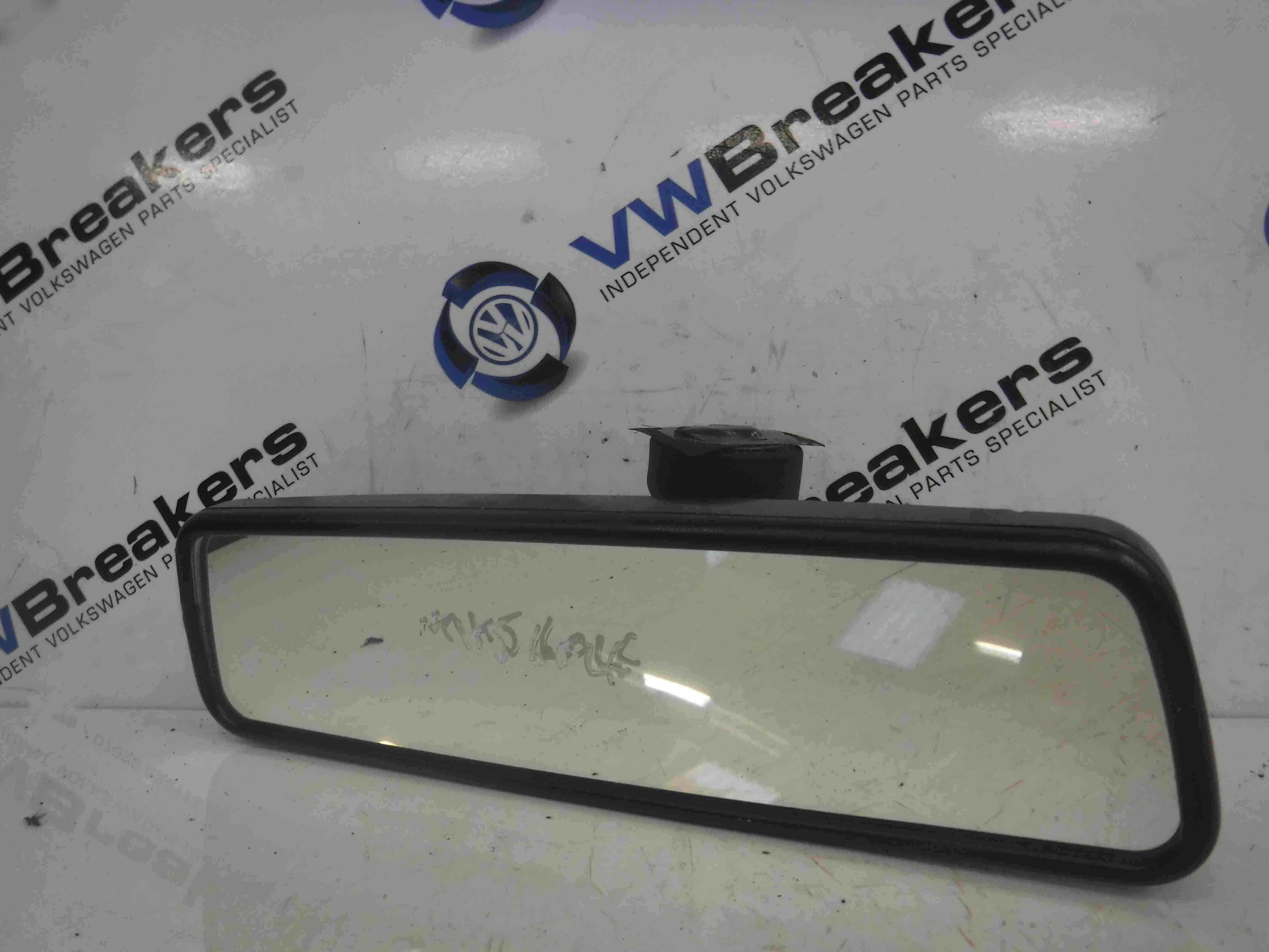 Volkswagen Golf MK5 2003-2009 Rear View Mirror Black