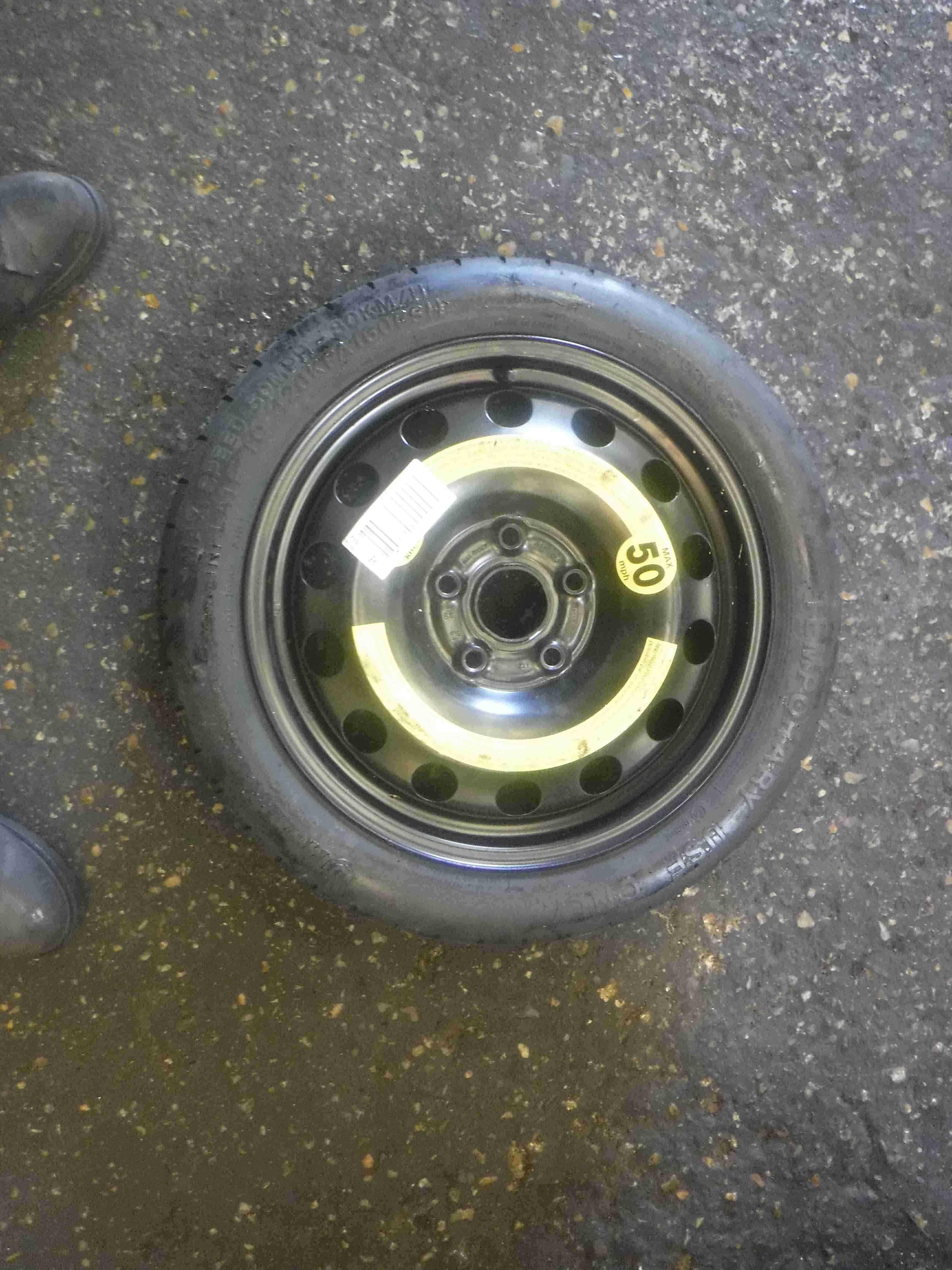 Volkswagen Golf MK5 2003-2009 Space Saver Spare Wheel 16inch